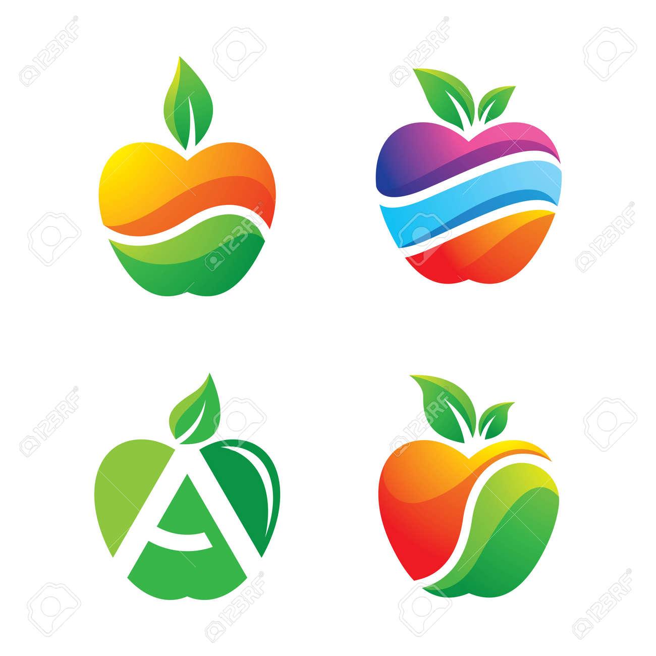 Apple logo images illustration design - 173410503