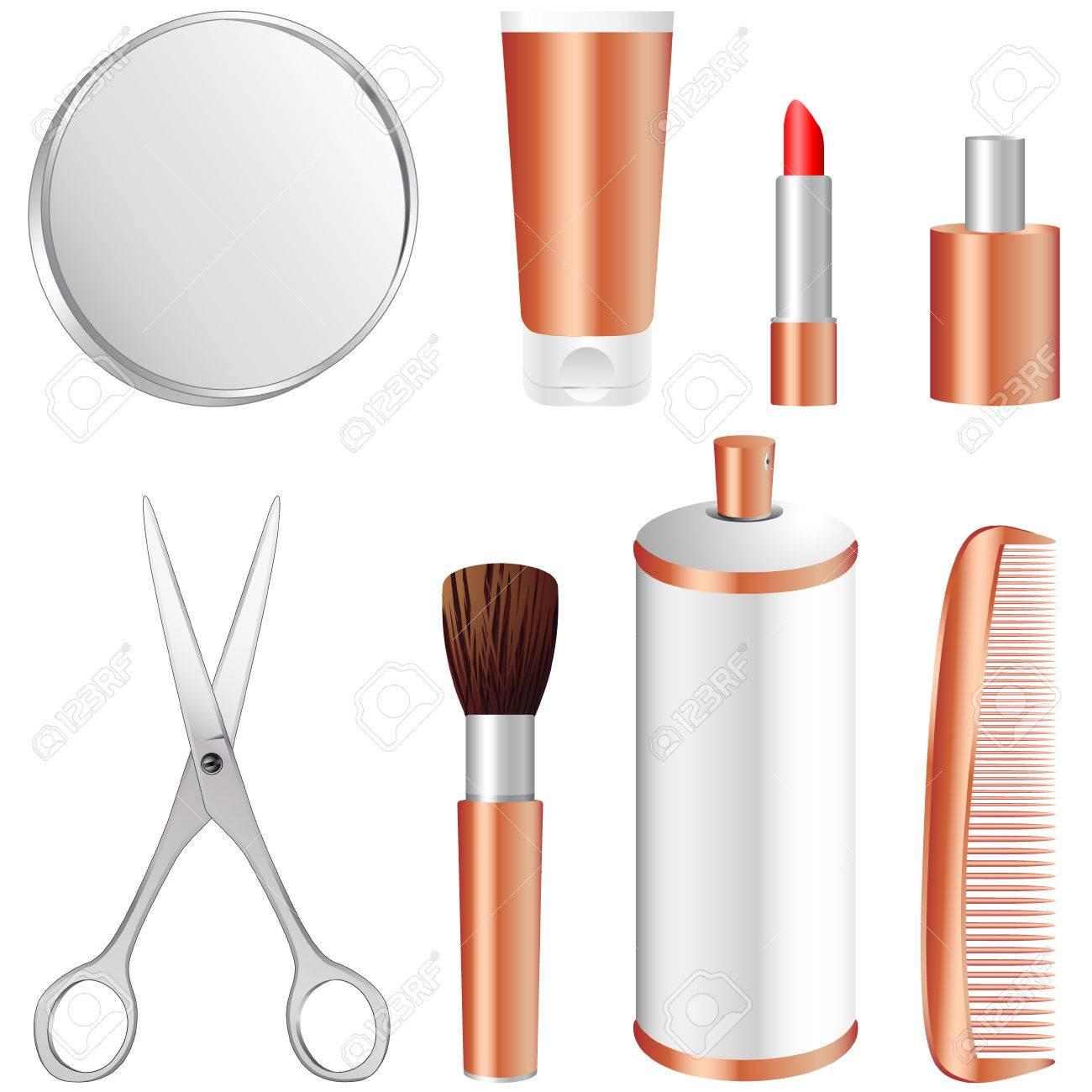 Hair And Makeup Icon Hair Spray Icon Makeup Icon