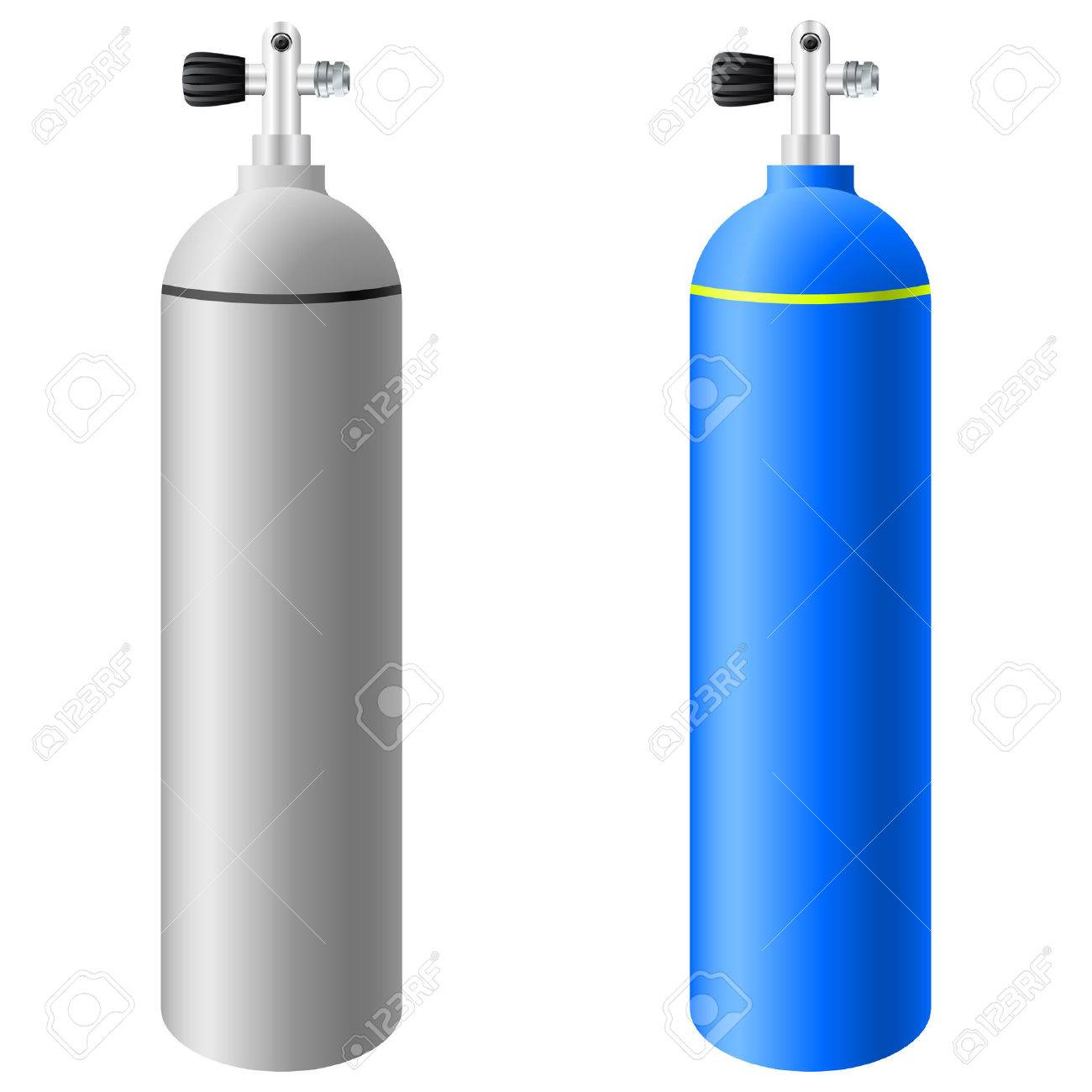 Scuba Tank Clipart Scuba Tanks Oxygen Bottle