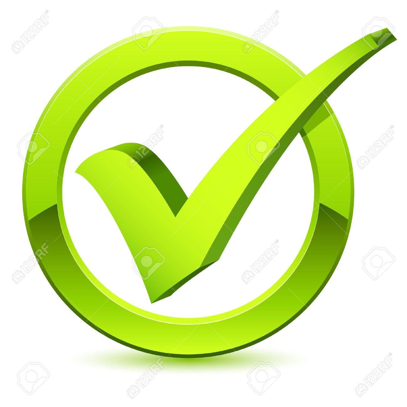 3d Check Mark Symbol Royalty Free Cliparts Vectors And Stock