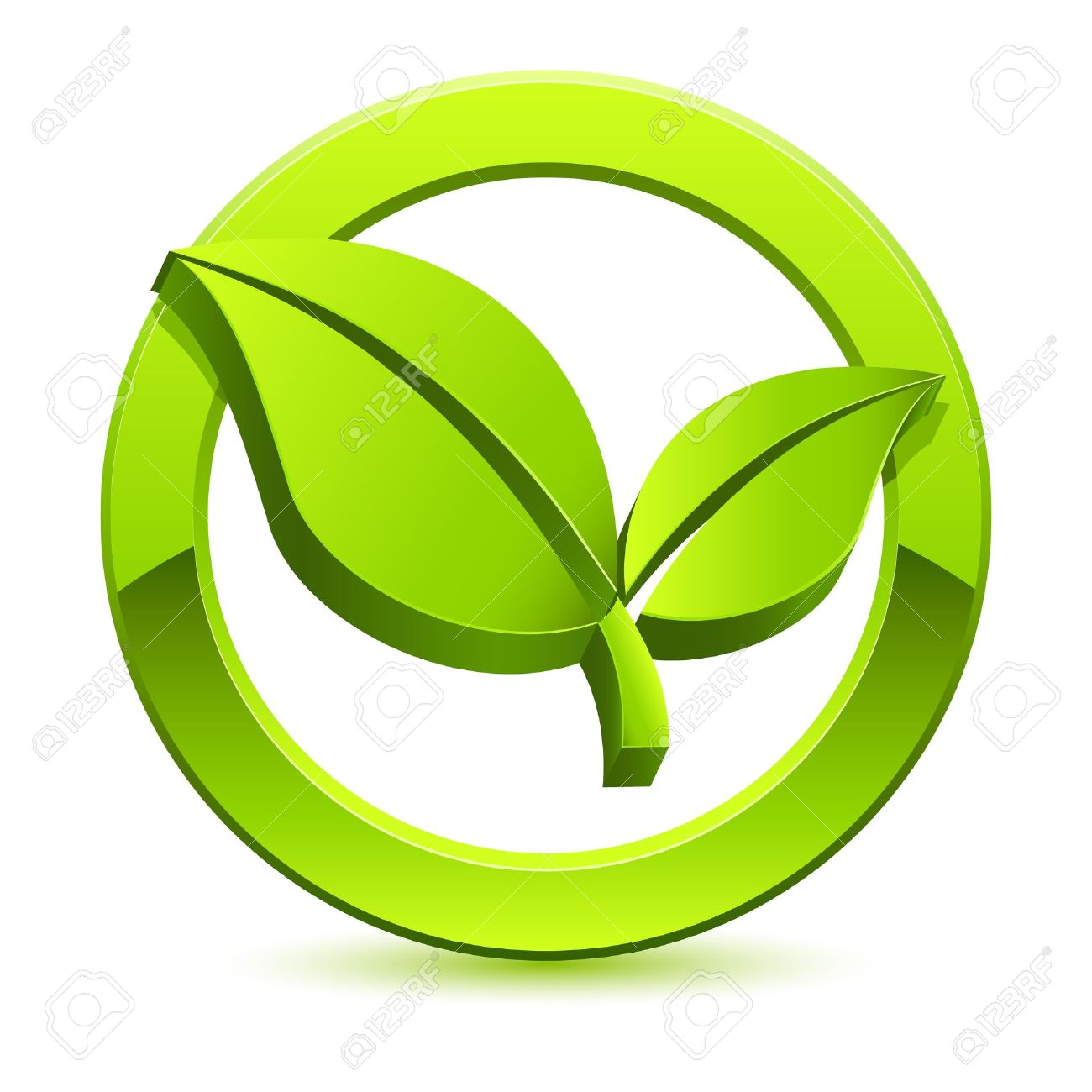 green eco sign Stock Vector - 14297262