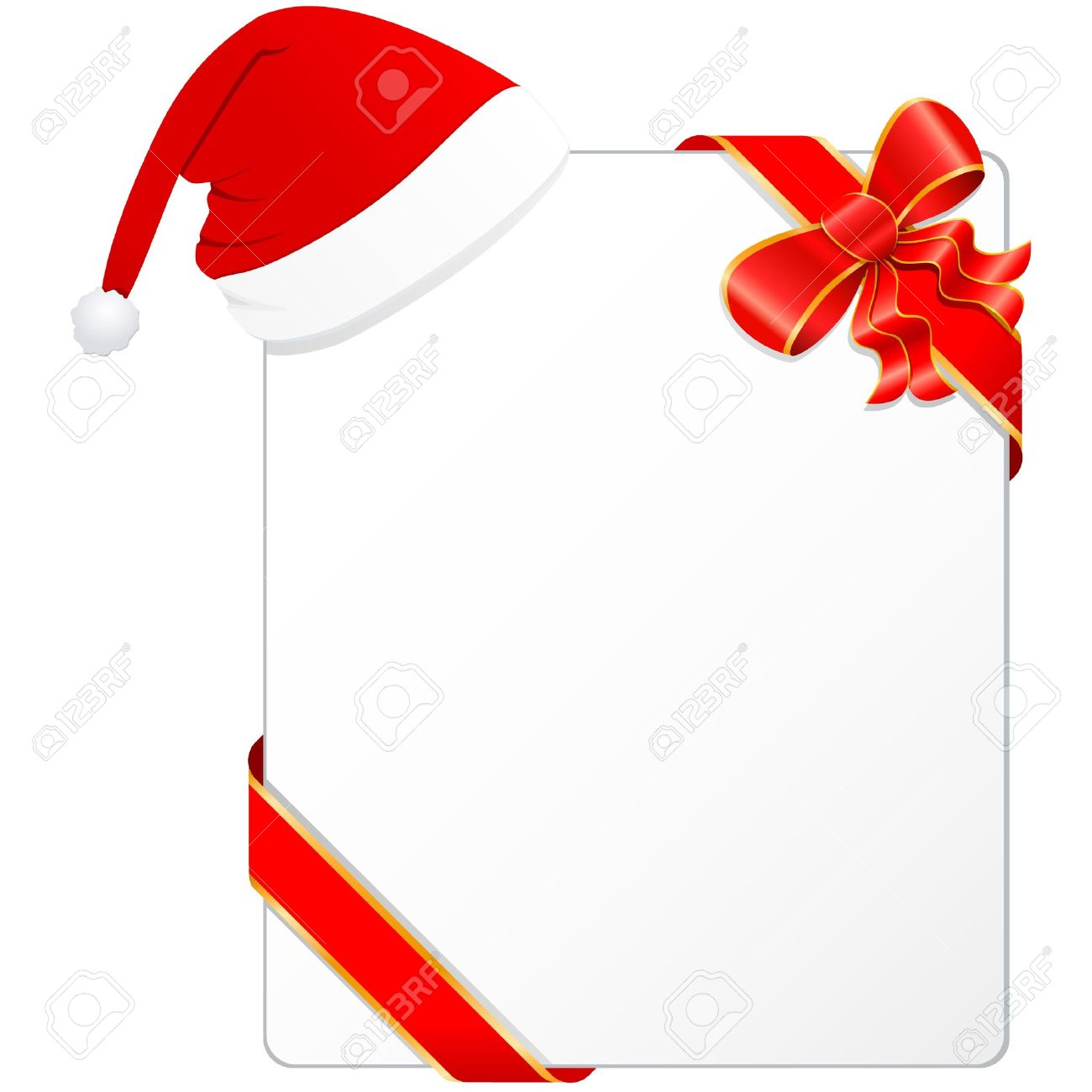 Christmas Wish List With Santa S Hat Royalty Free Cliparts Vectors And Stock Illustration Image 15704131