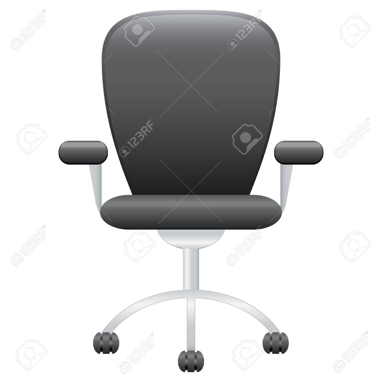 leather office chair Stock Vector - 18004248