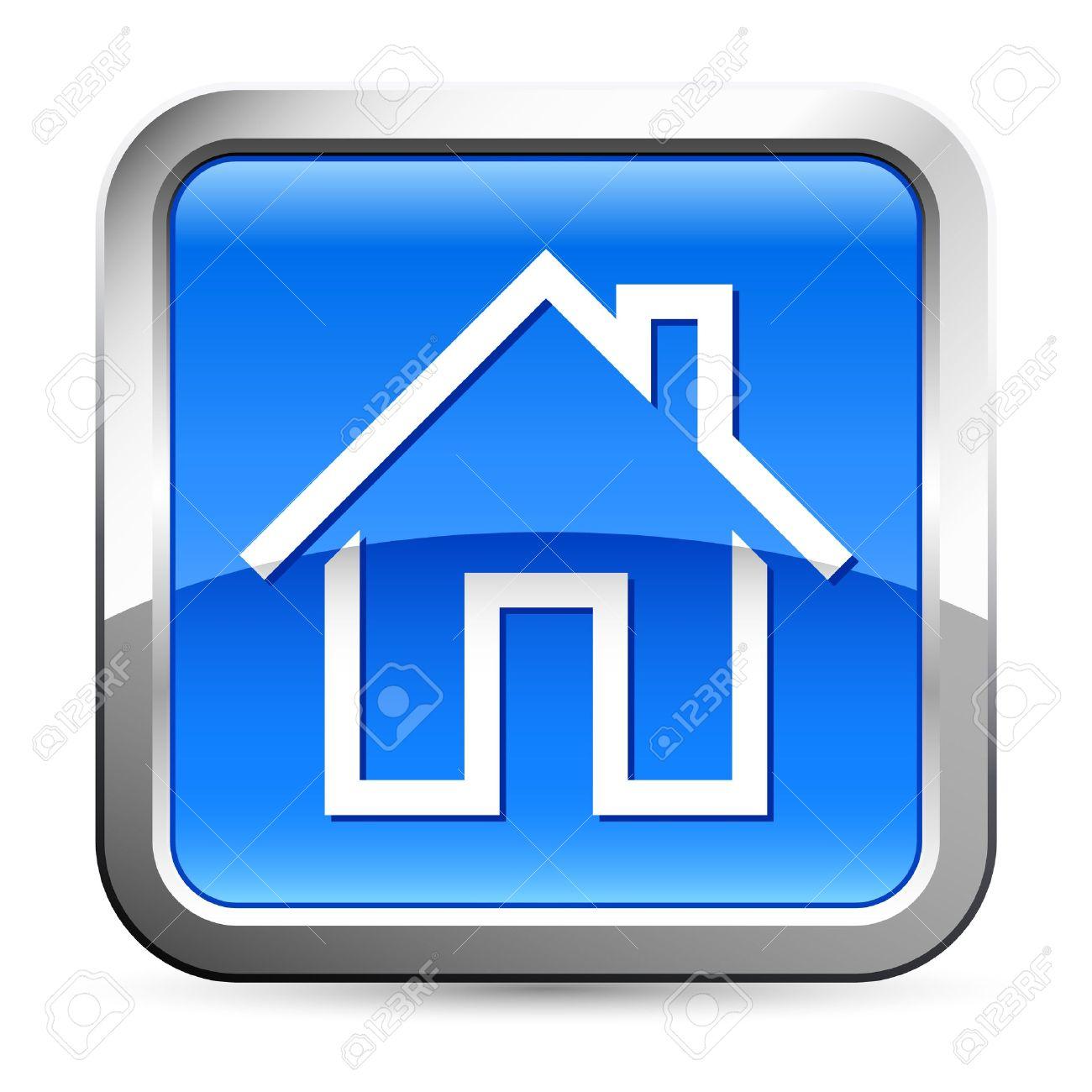 Button Logo Home Button Logo House