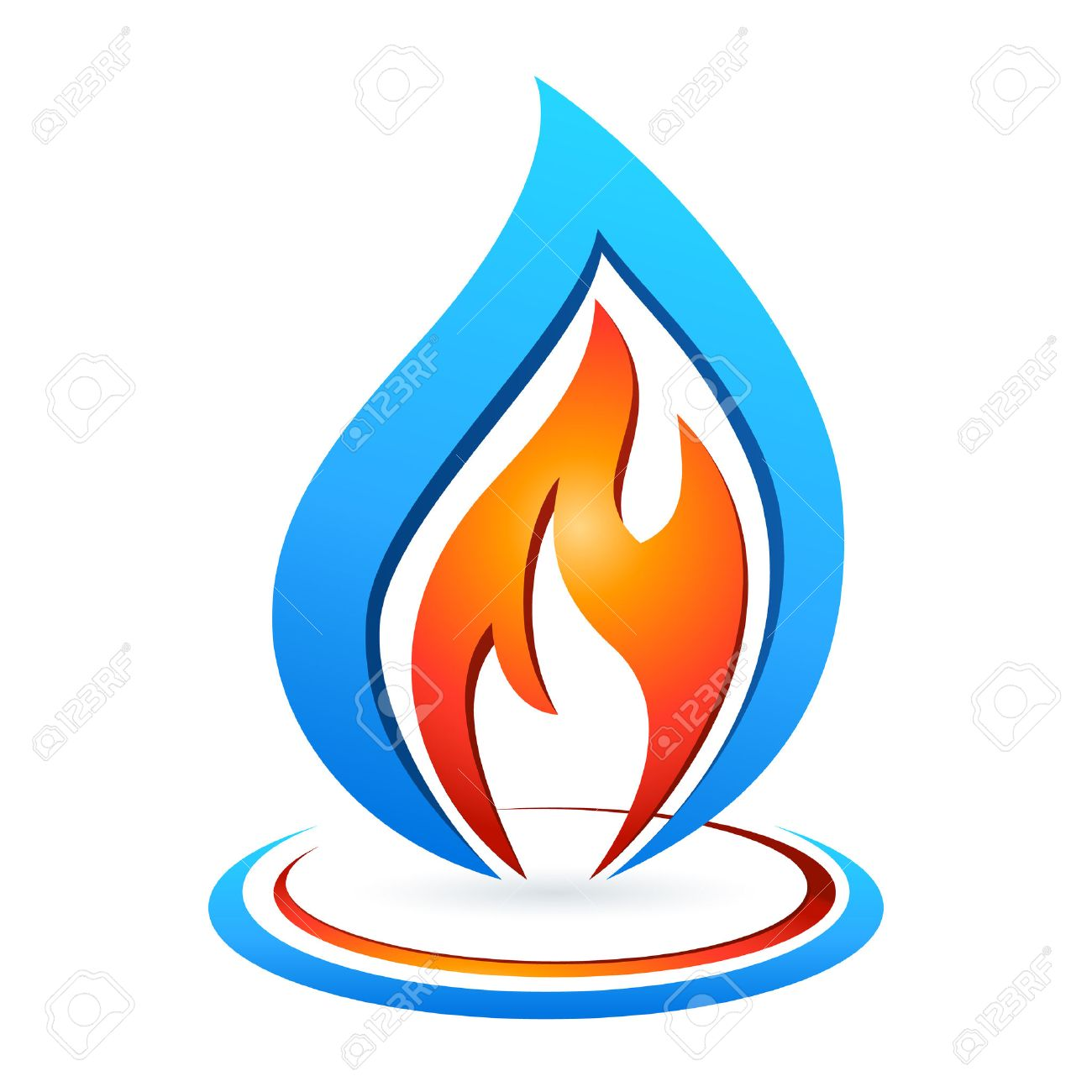 Fire and water royalty free cliparts vectors and stock fire and water stock vector 26041442 biocorpaavc Choice Image