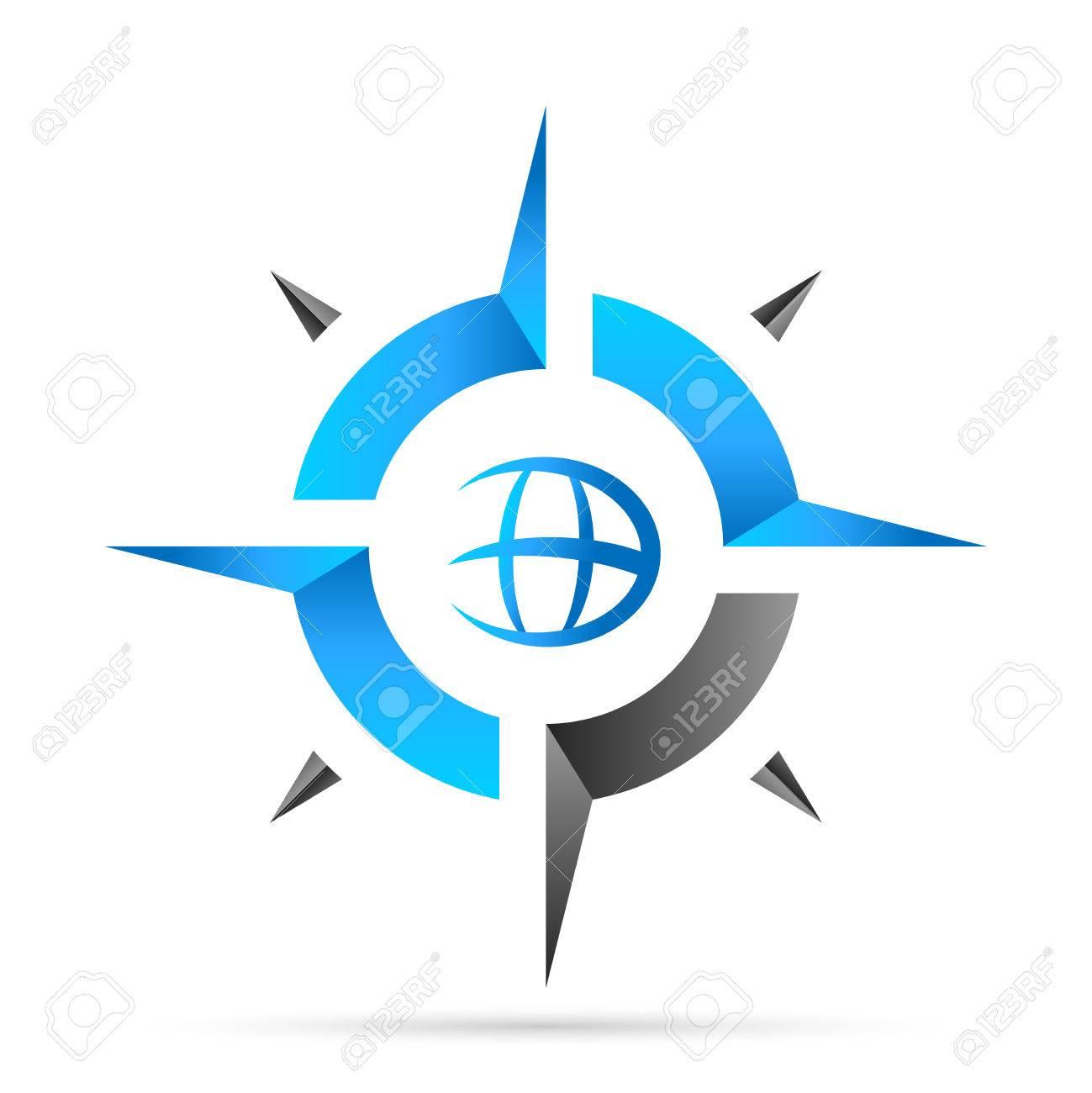 compass, navigation icon - 51292144