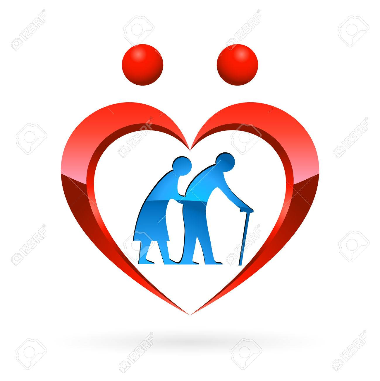 nursing home icon - vector illustration - 52879531