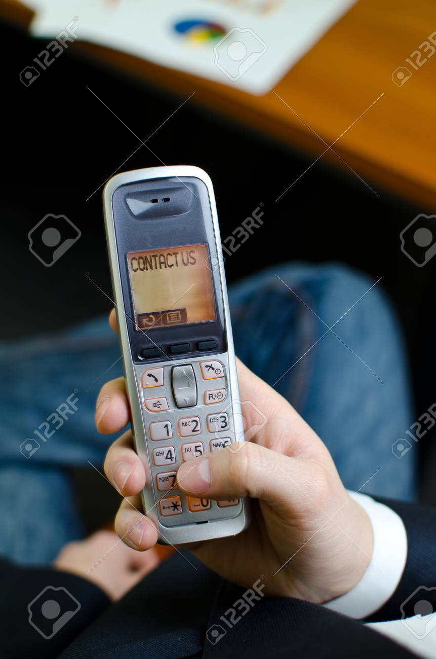 Cordless telephone with