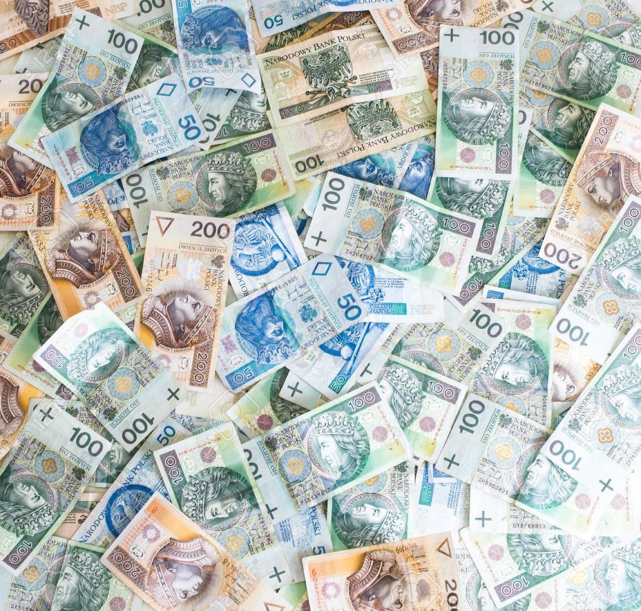 壁紙のポーランドのお金 ポーランド ズウォティ の写真素材 画像