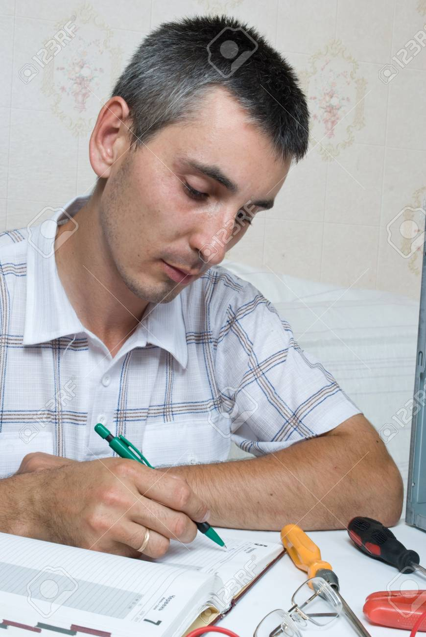 IT Engineer Working Stock Photo - 5028178