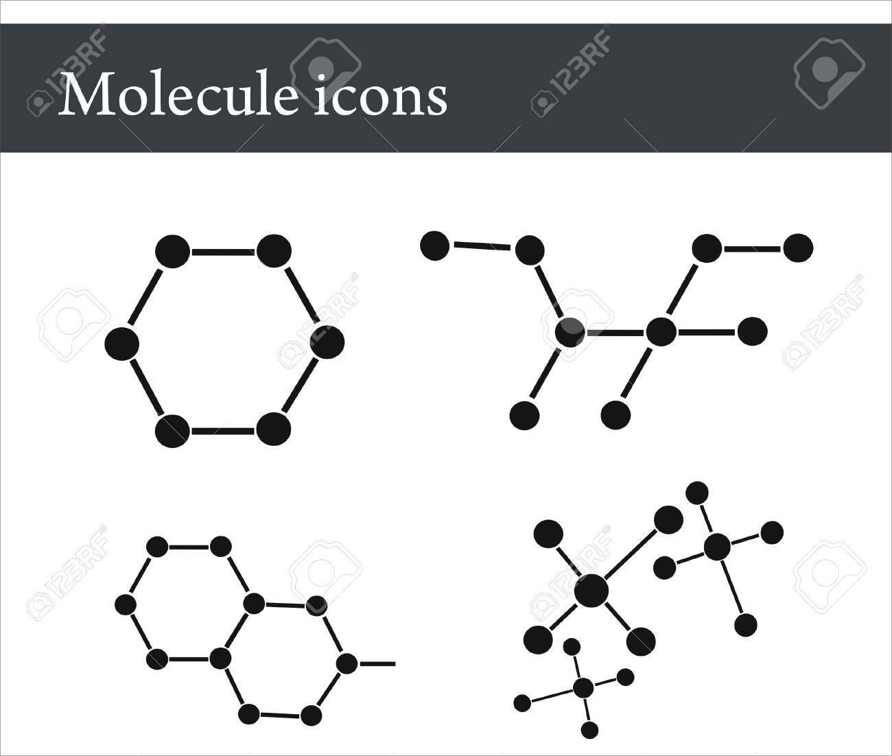 Molecule Stock Vector - 5178900