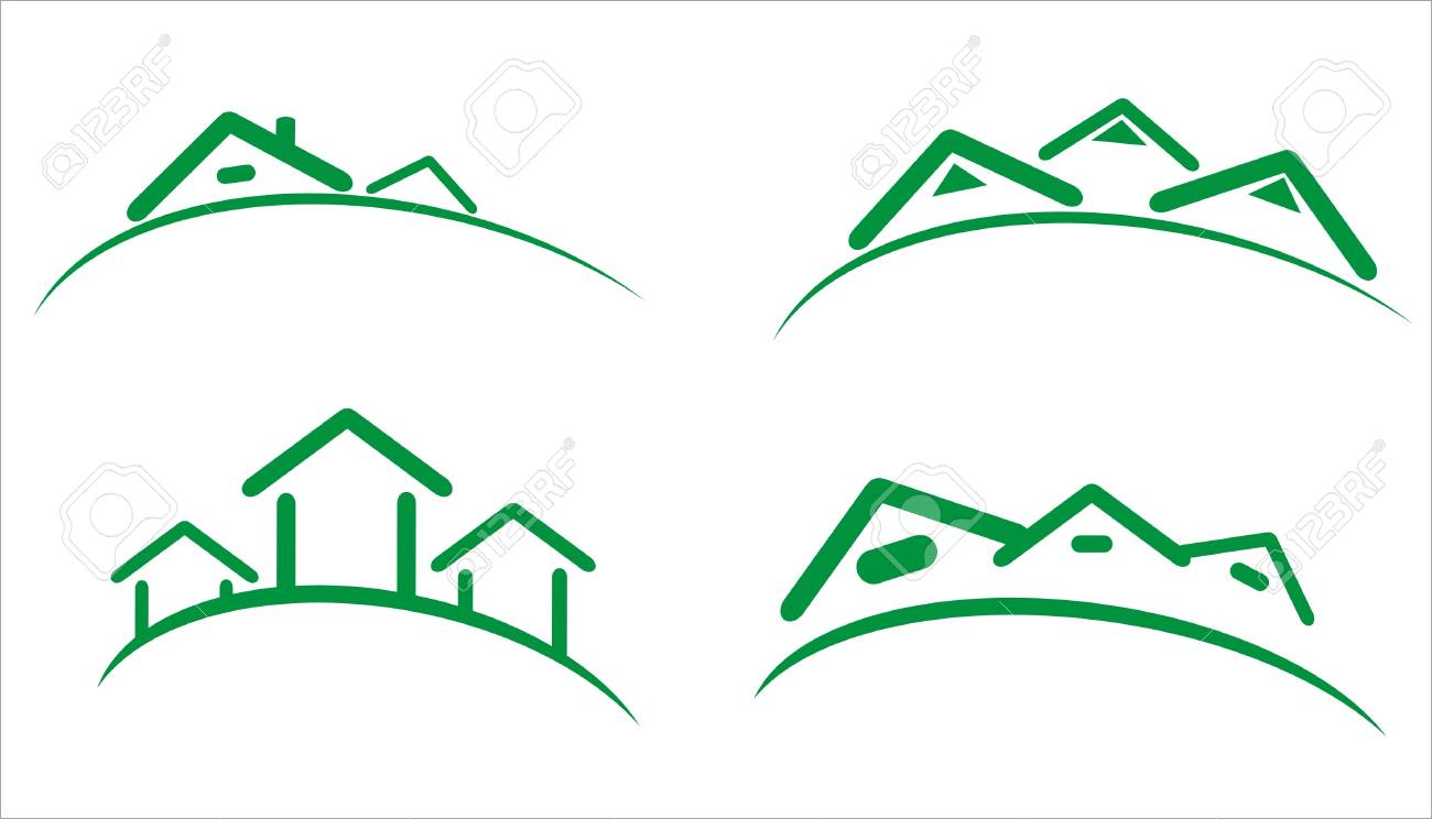 construction real estate icons Stock Photo - 9276225