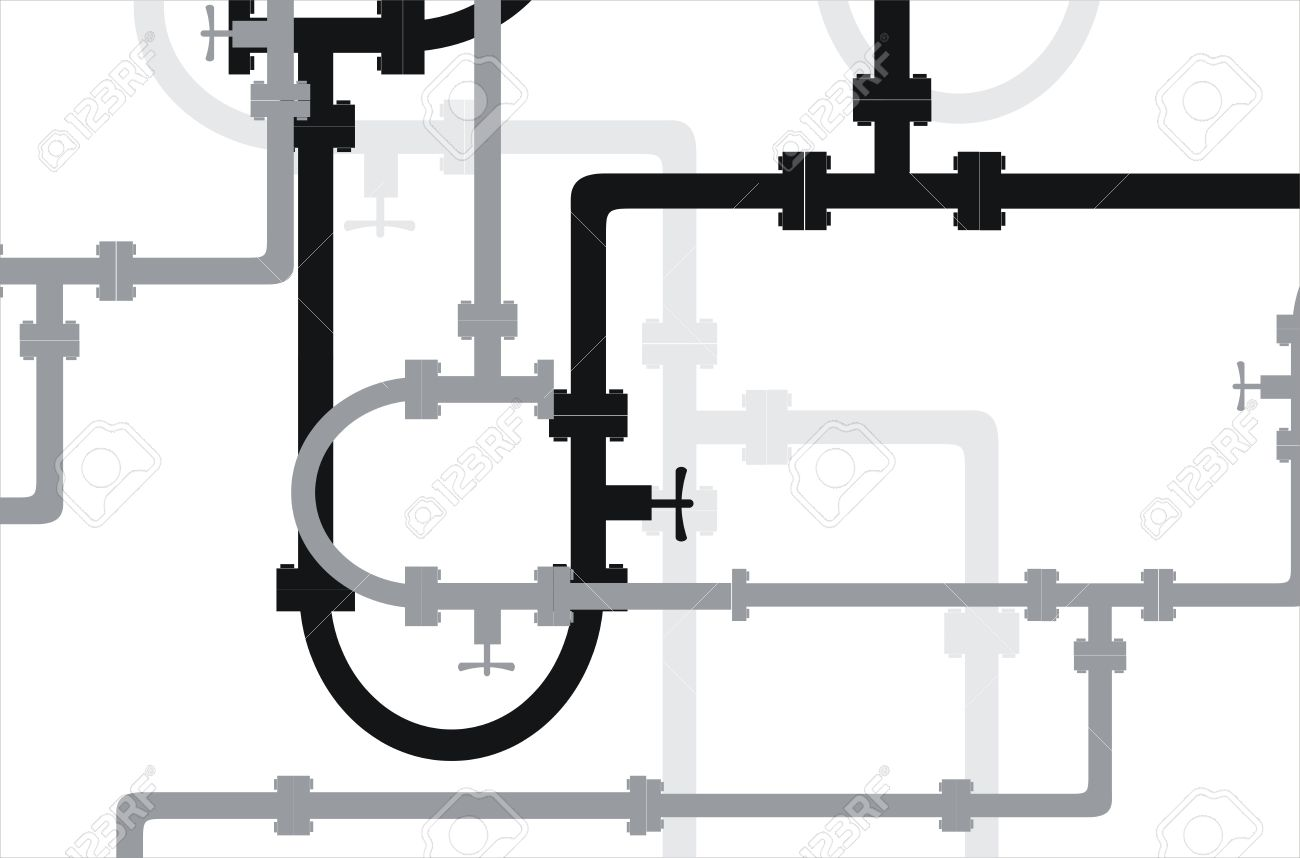 seamless vector texture the old water pipe royalty free cliparts rh 123rf com vector pipeline expansion vector pipeline expansion