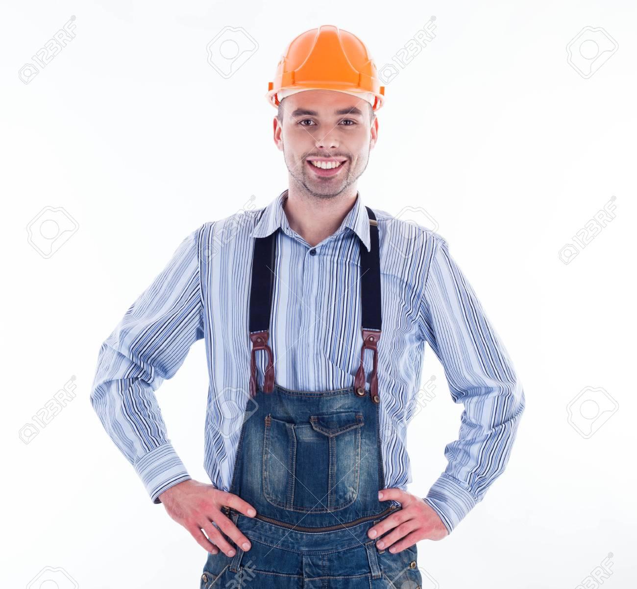 A builder man Stock Photo - 16657475