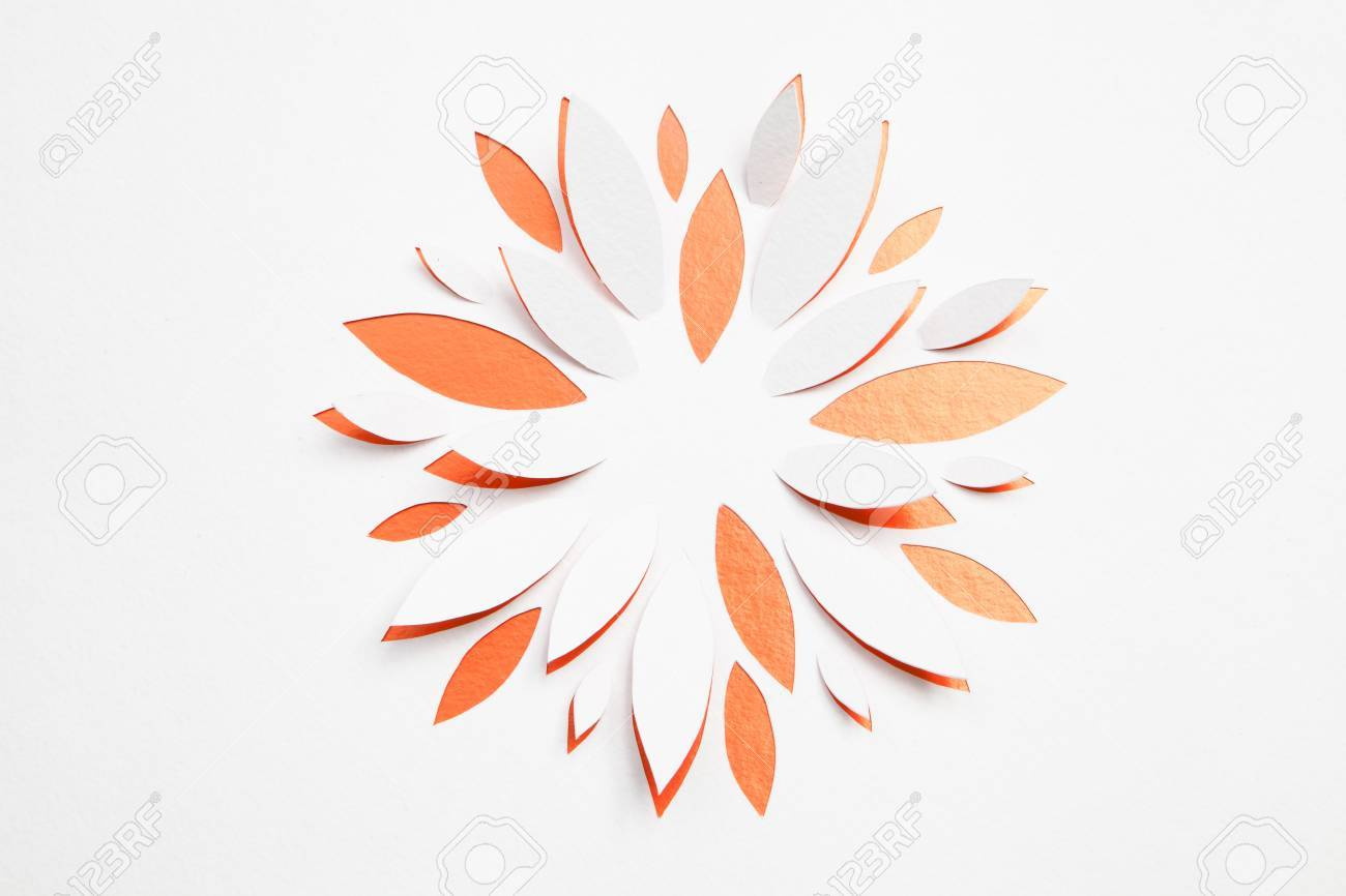 Paper Origami Flower Stock Photo Picture And Royalty Free Image