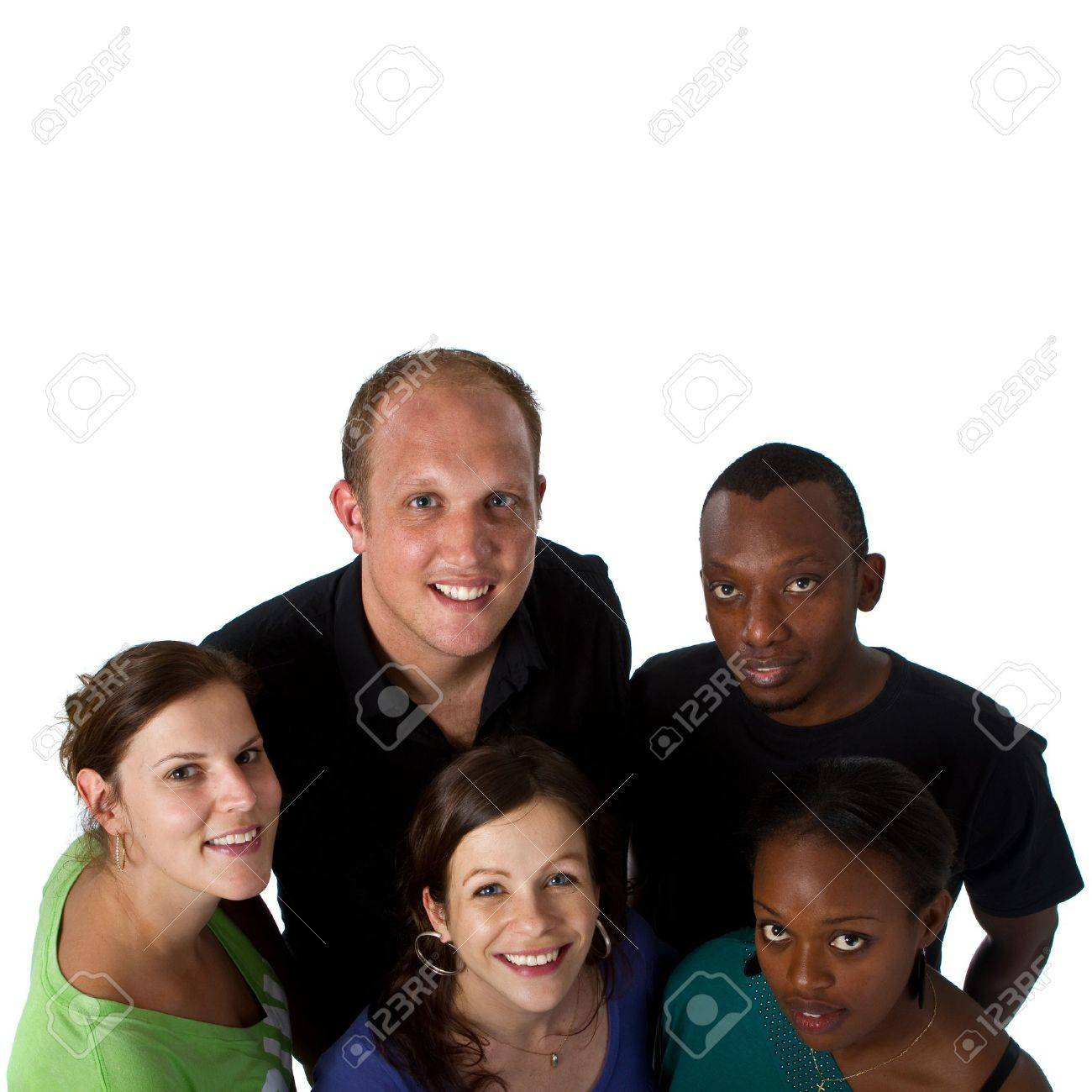 Young multiracial group Stock Photo - 7112669