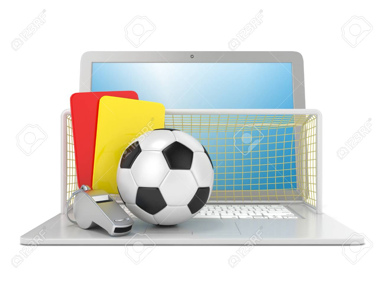 a75cf0f9232 Concept De Football. Carte De Pénalité (rouge Et Jaune)