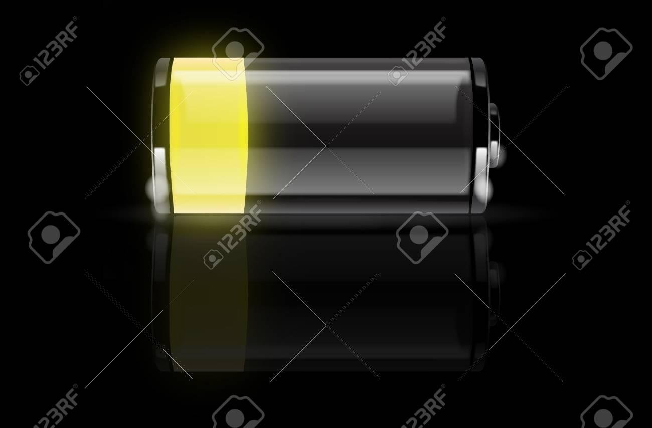 Battery vector Stock Vector - 8034167