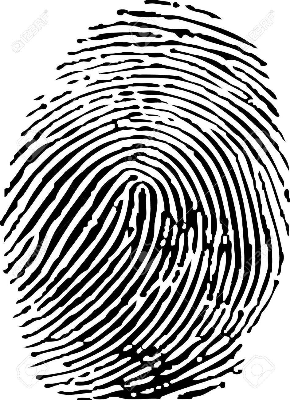 Fingerprint Stock Vector - 8347232