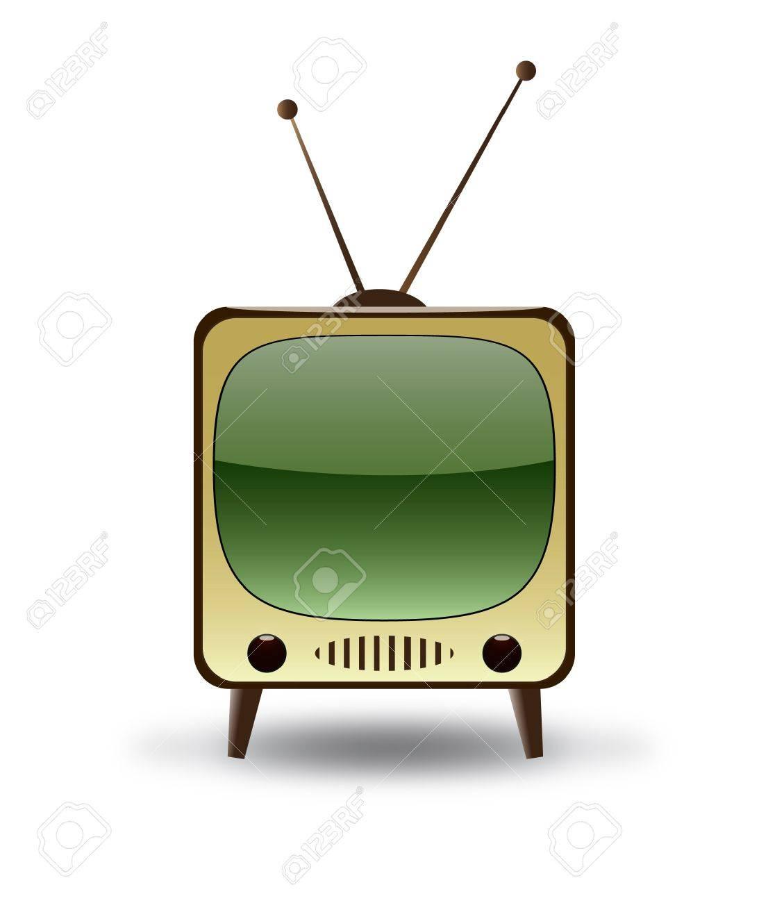 Retro TV Stock Vector - 9356061