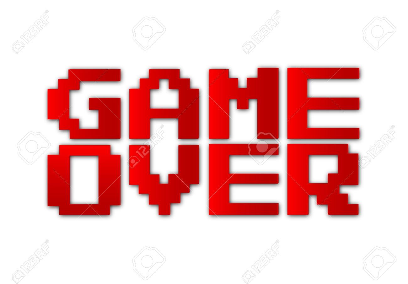 Game Over-vector Royalty Free Cliparts, Vectors, And Stock ...