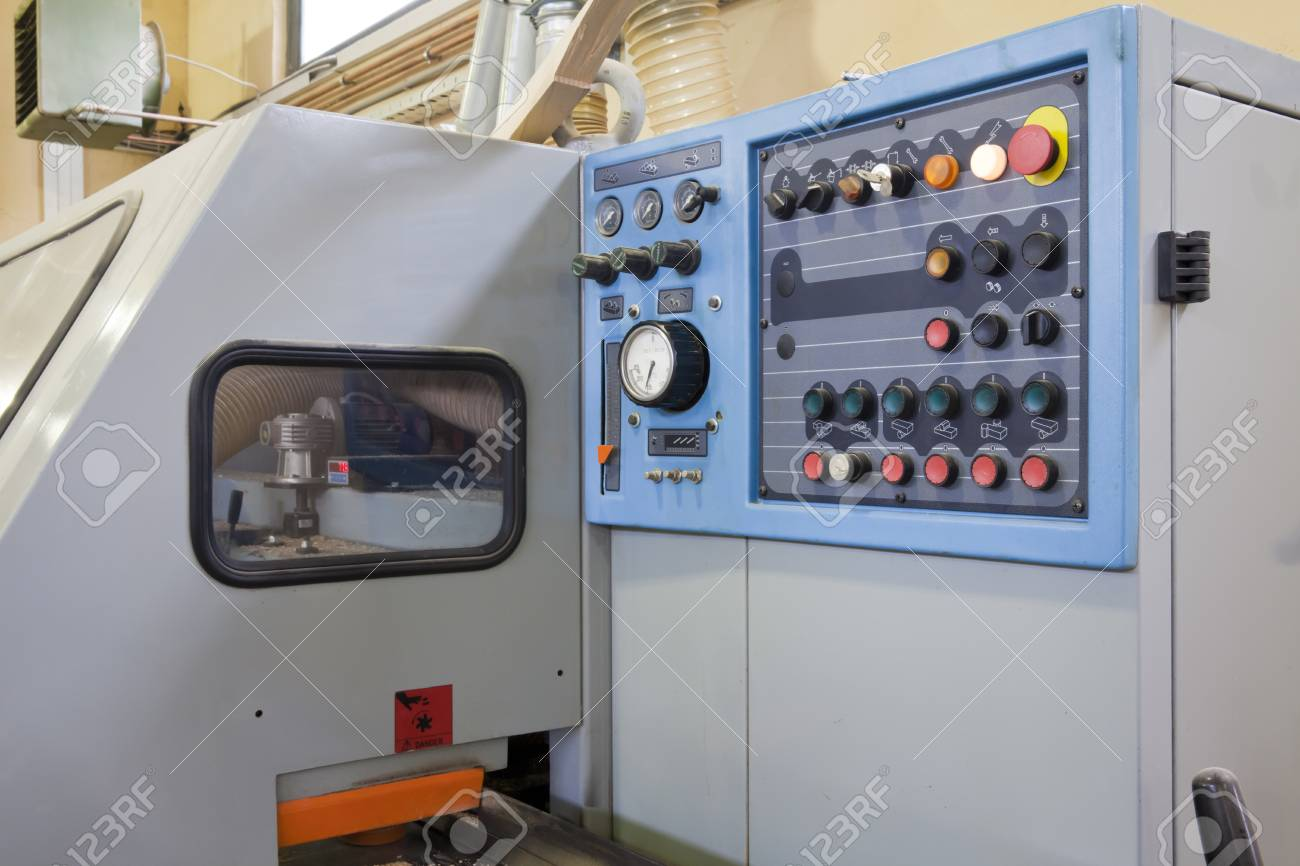 Part of machine for wood Stock Photo - 26894928