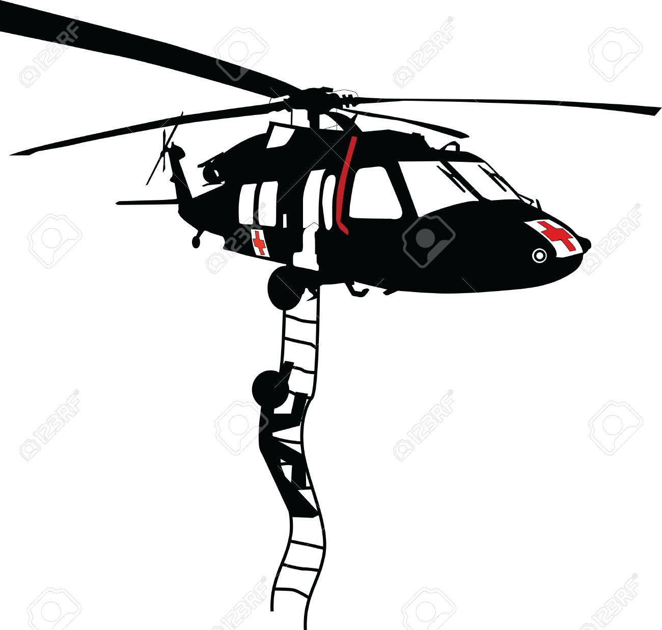 29,096 Helicopter Cliparts, Stock Vector And Royalty Free ... for Helicopter Clipart Black And White  26bof