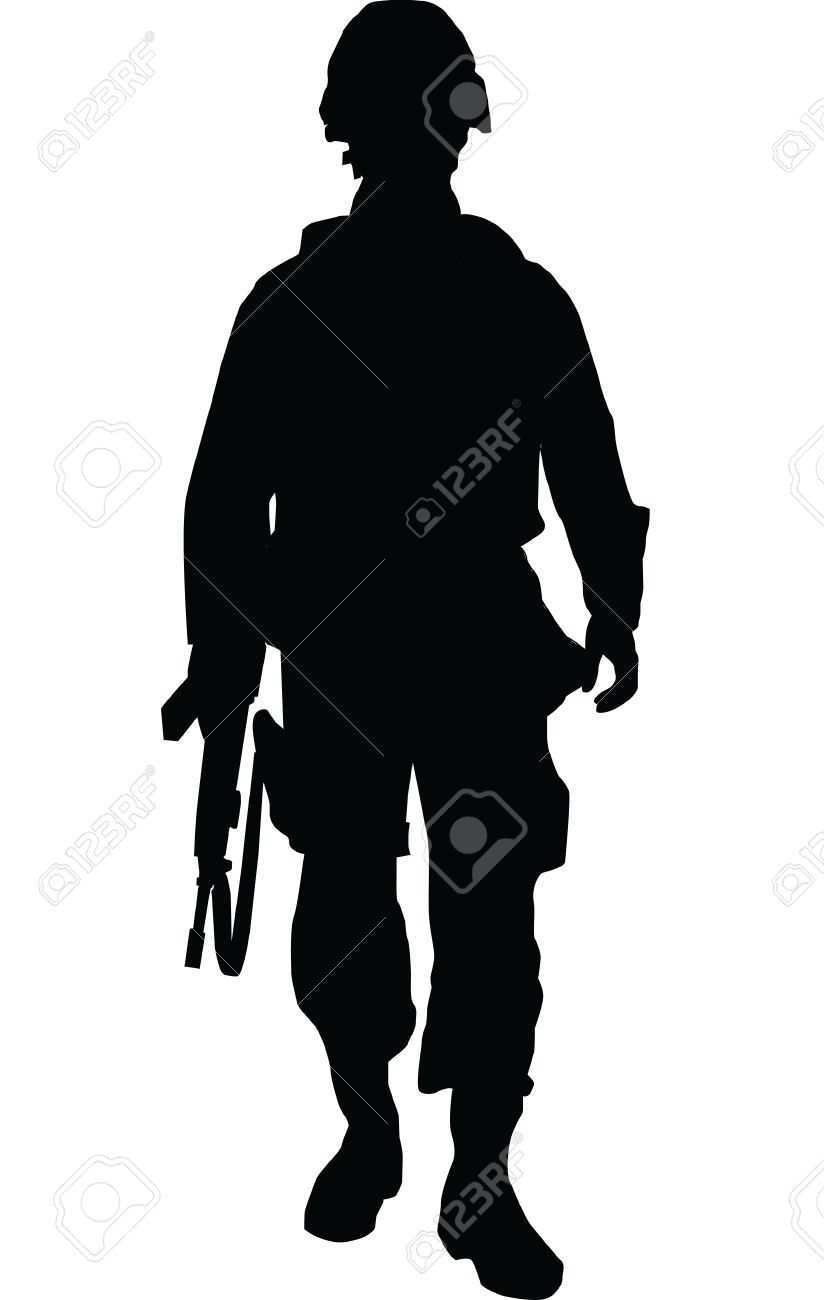 soldier royalty free cliparts vectors and stock illustration rh 123rf com soldier vector silhouette soldier vector free