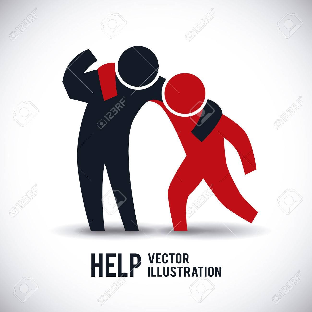 help graphic design illustration royalty free cliparts vectors rh 123rf com helping helpdesk