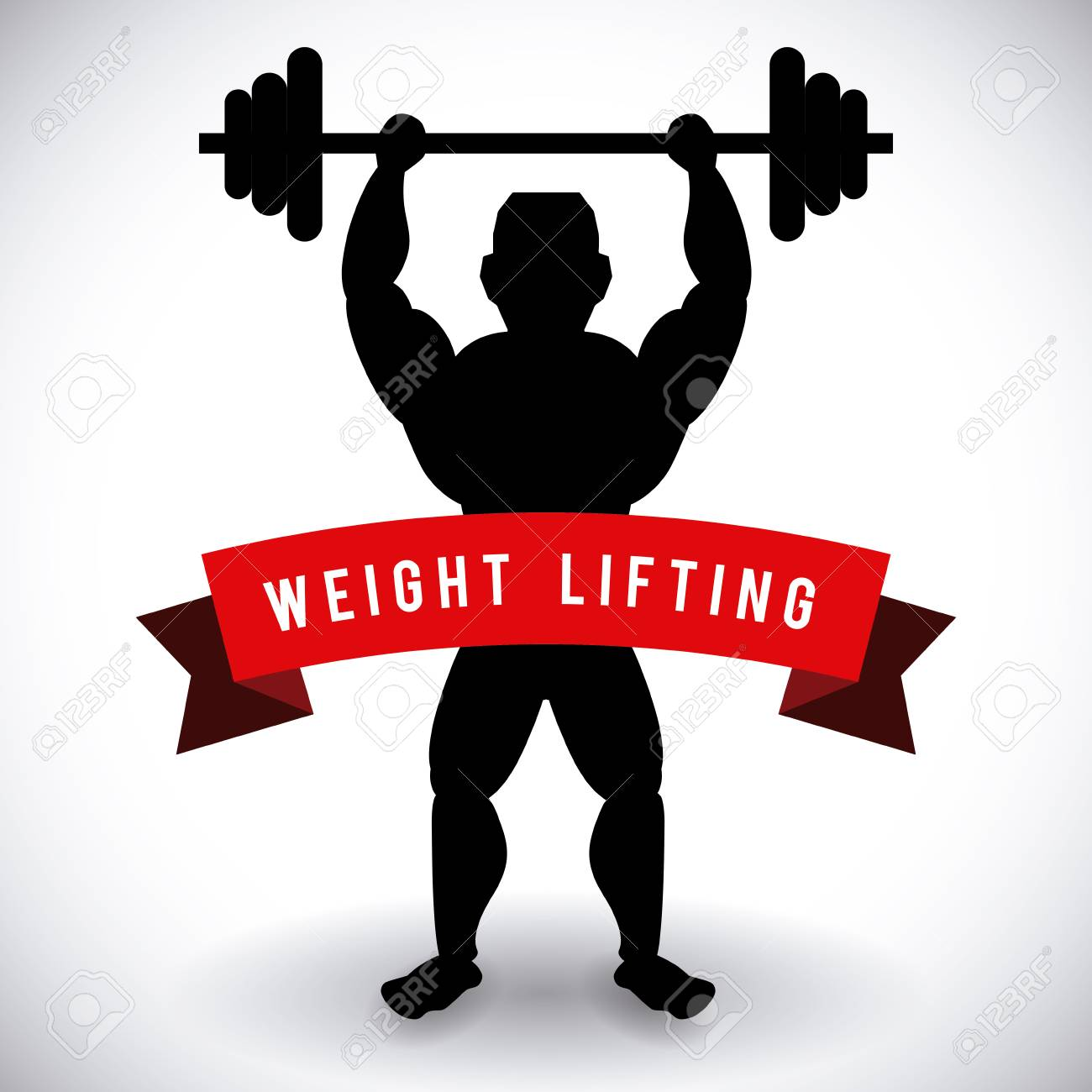 Bodybuilding Graphic Design , Vector Illustration Royalty Free ... for Bodybuilding Graphic Design  45ifm