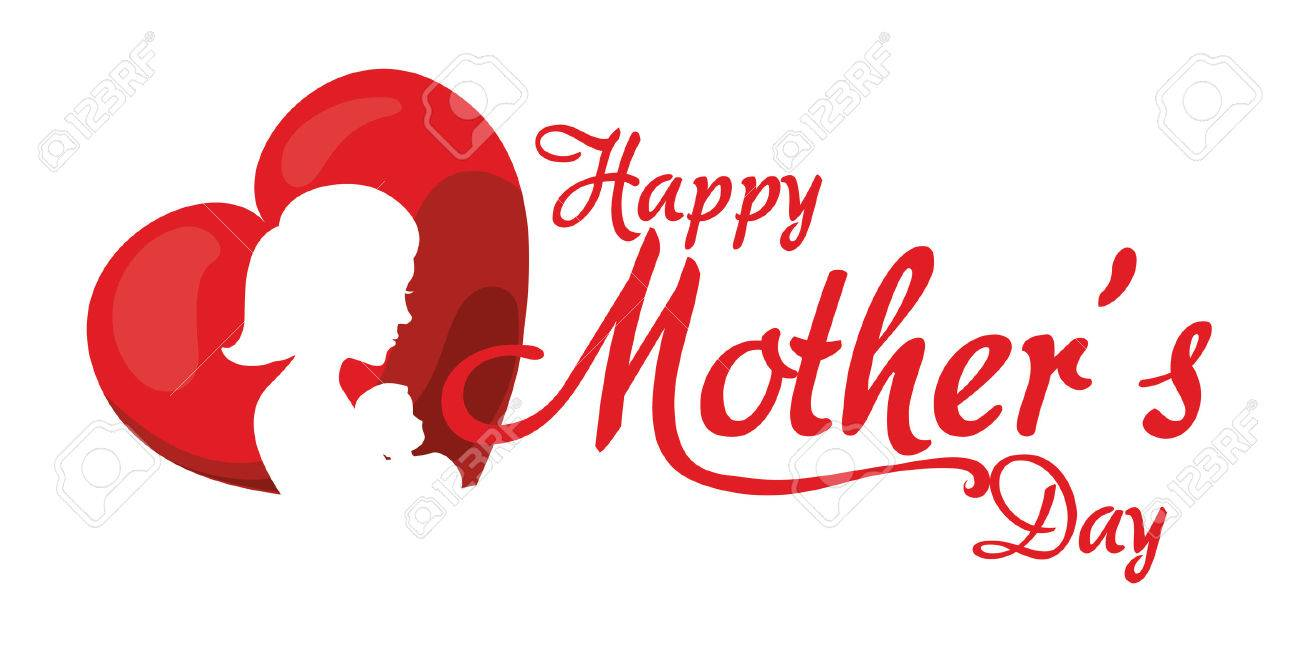 Mothers Day Design Vector Illustration Graphic Stock