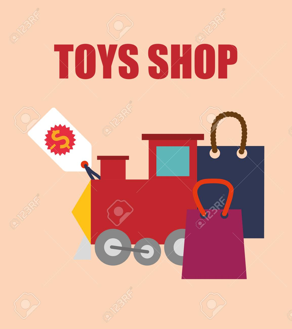 toy shop concept and childhood icons design vector illustration rh 123rf com