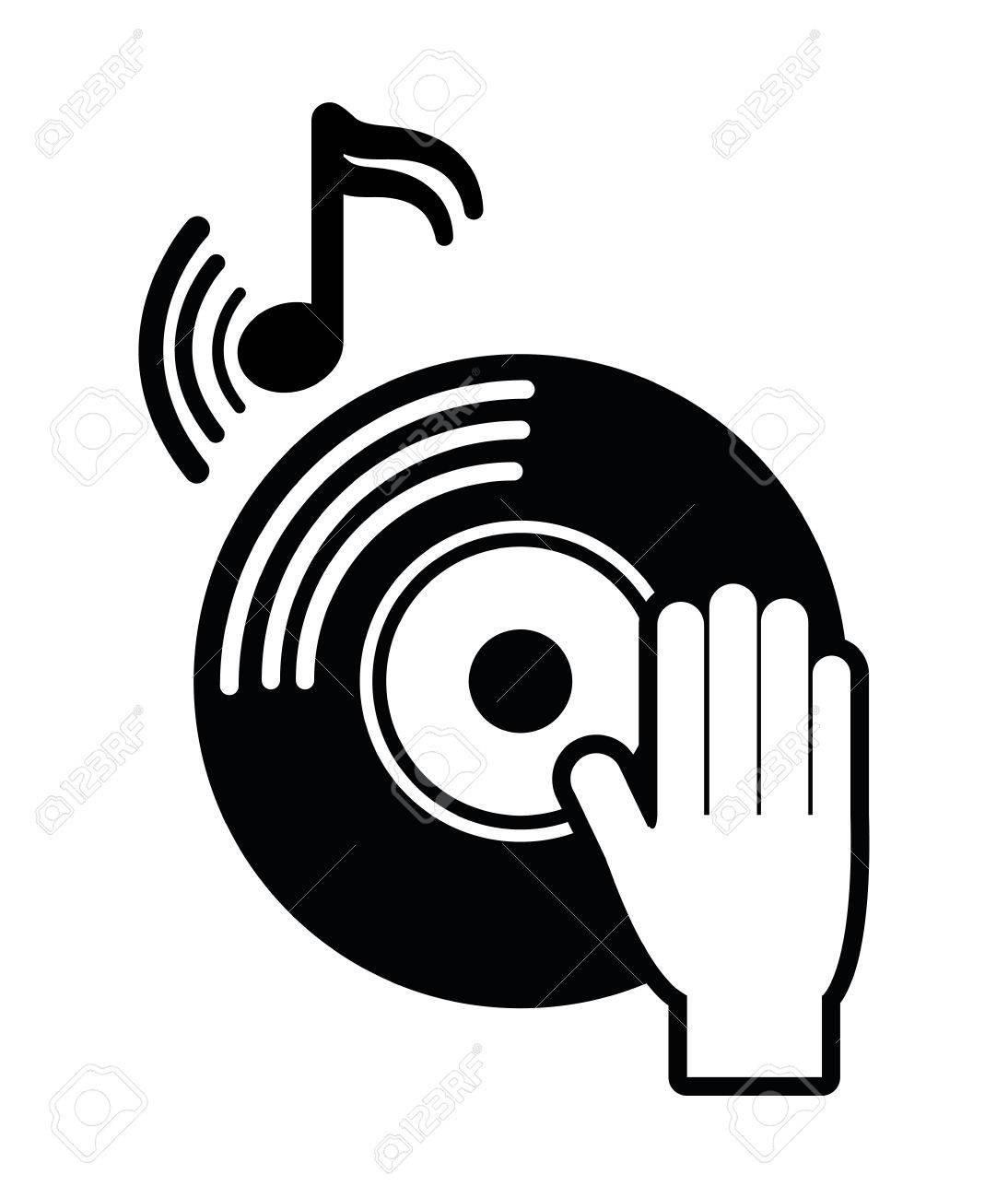 dj electronic music party graphic design vector illustration rh 123rf com dj victoria dj victor
