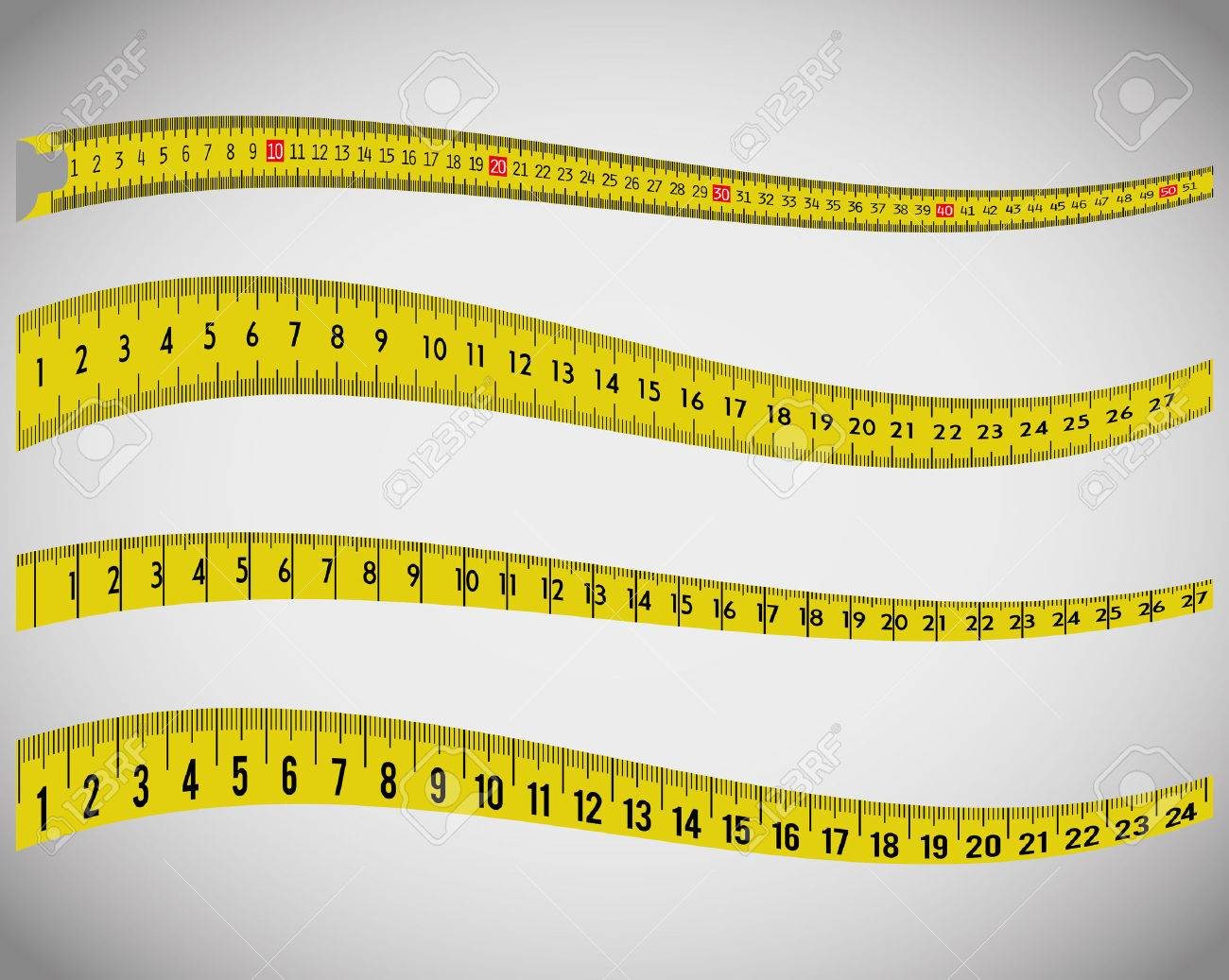 Measure tape and dieting graphic design, vector illustration eps10 - 50789834