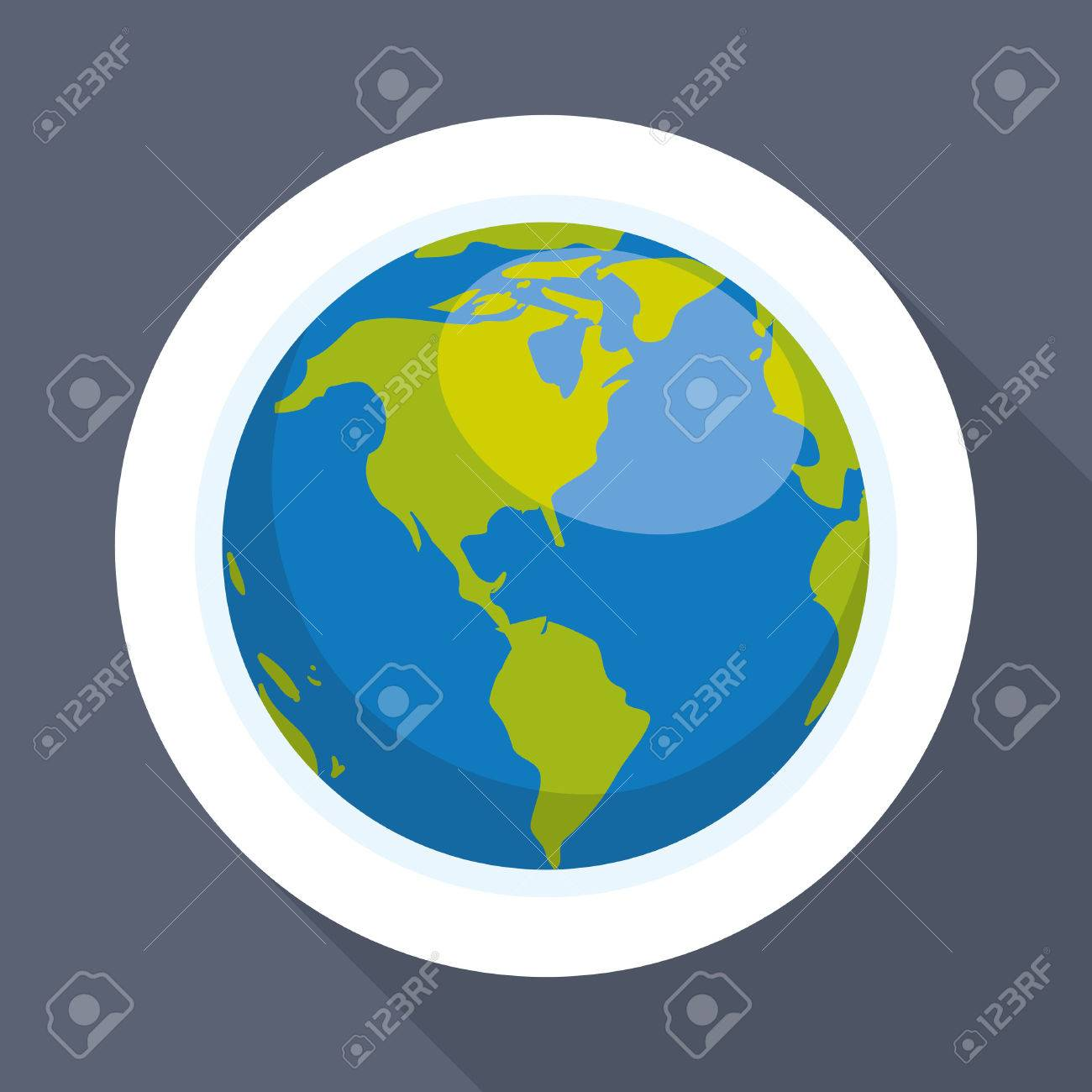 Planet concept with icon design, vector illustration 10 eps graphic. - 53626653