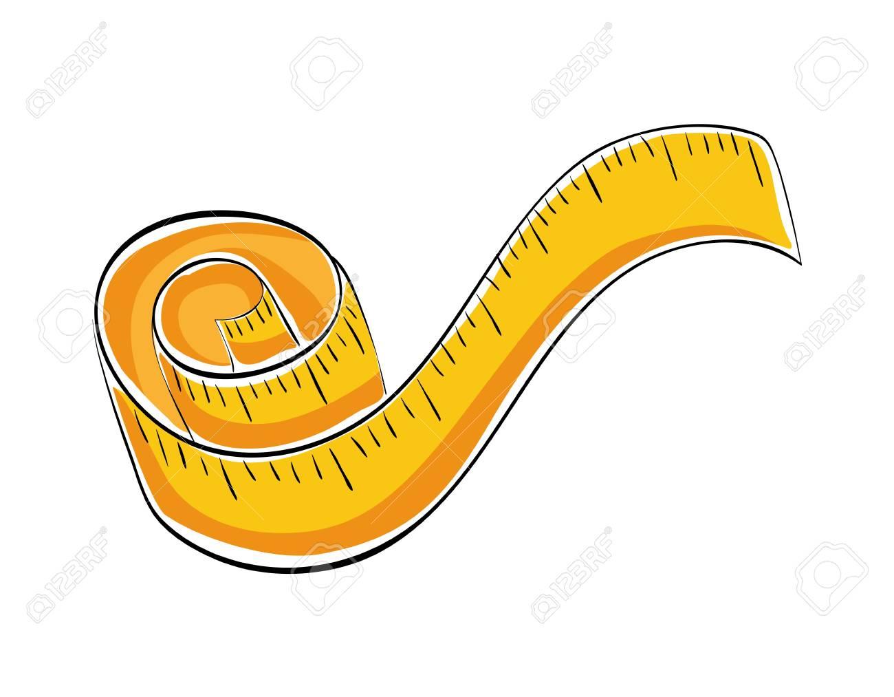 Messkonzept Für Meter Symbol über Flache Und Isolierte Hintergrund ...
