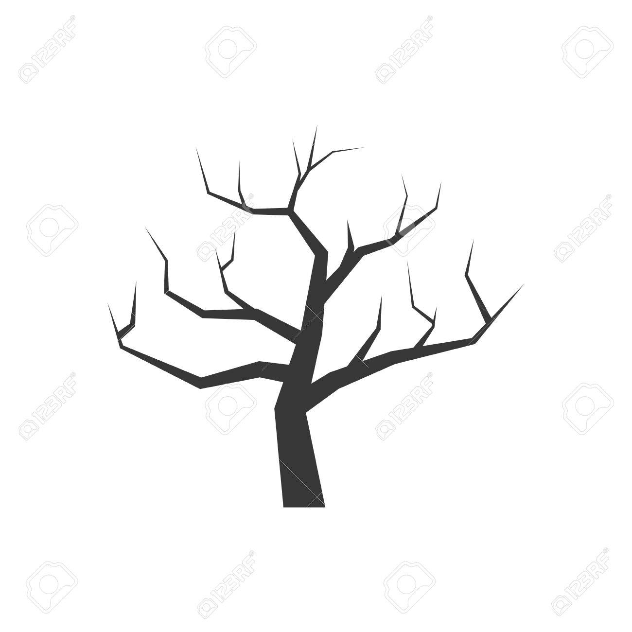 Nature and plant concept represented by dry tree icon. isolated and flat illustration - 59405728