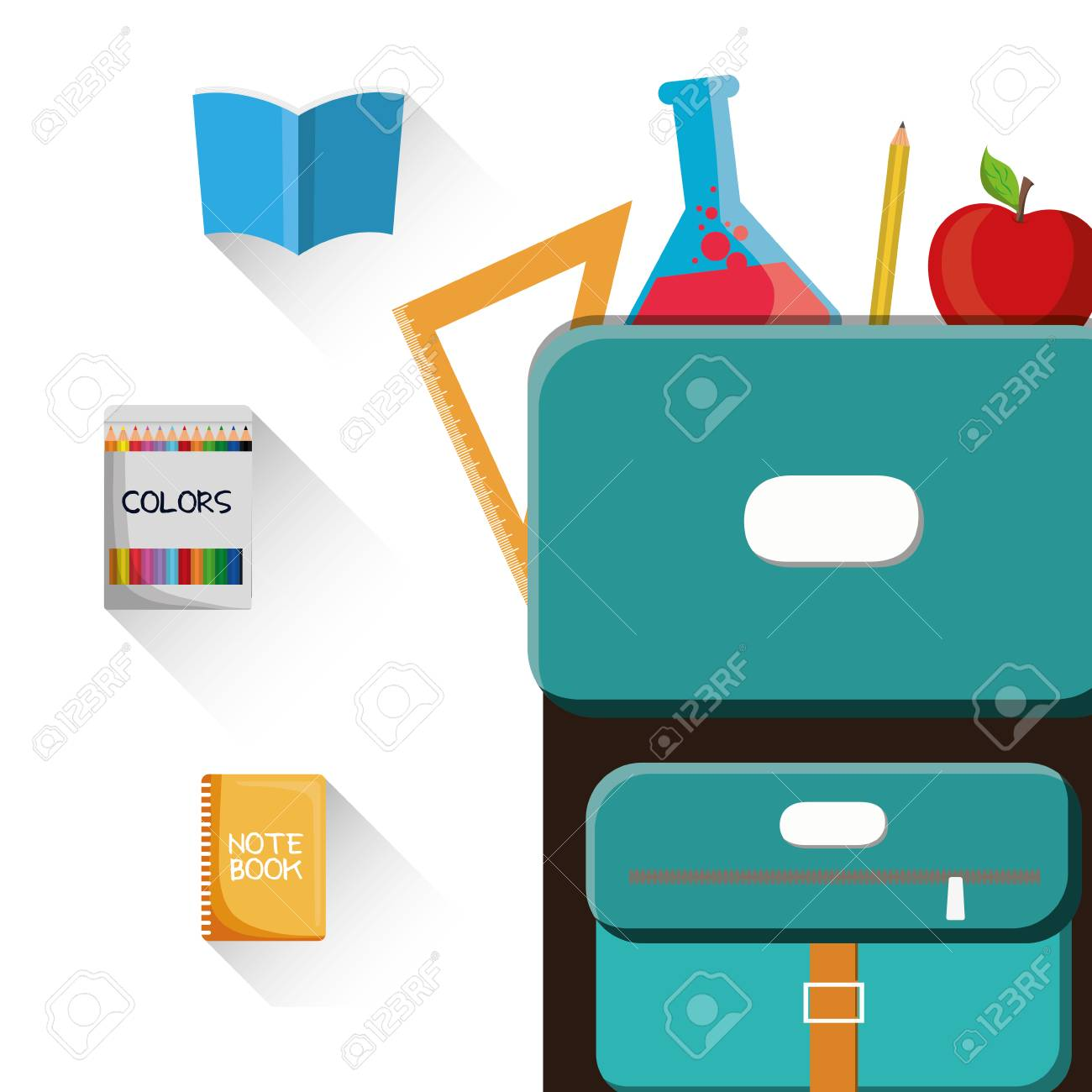 Bonito Bolsas De Libros Coloridos Fotos - Dibujos Para Colorear En ...