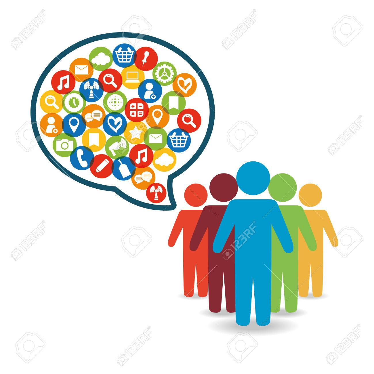 Social Network People Message World Customer Icon Royalty Free Cliparts Vectors And Stock Illustration Image 64459244 Customer service icons with reflect on white vector. social network people message world customer icon
