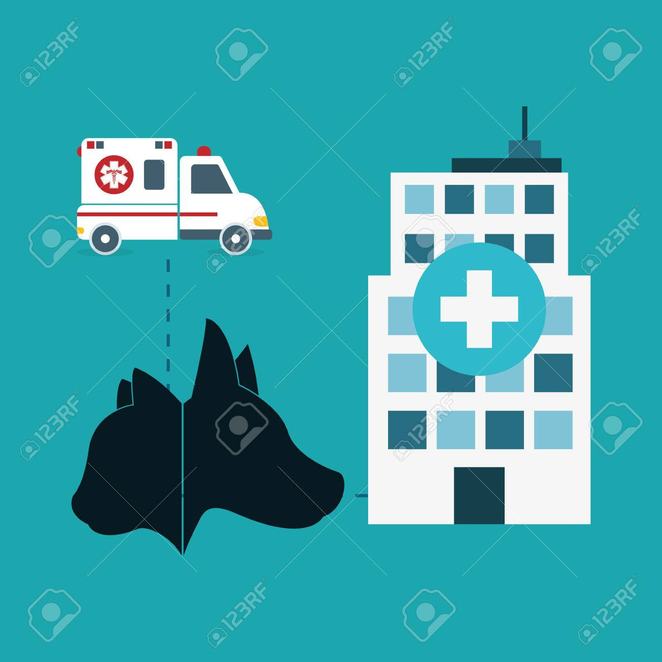 pet care center service icons vector illustration design