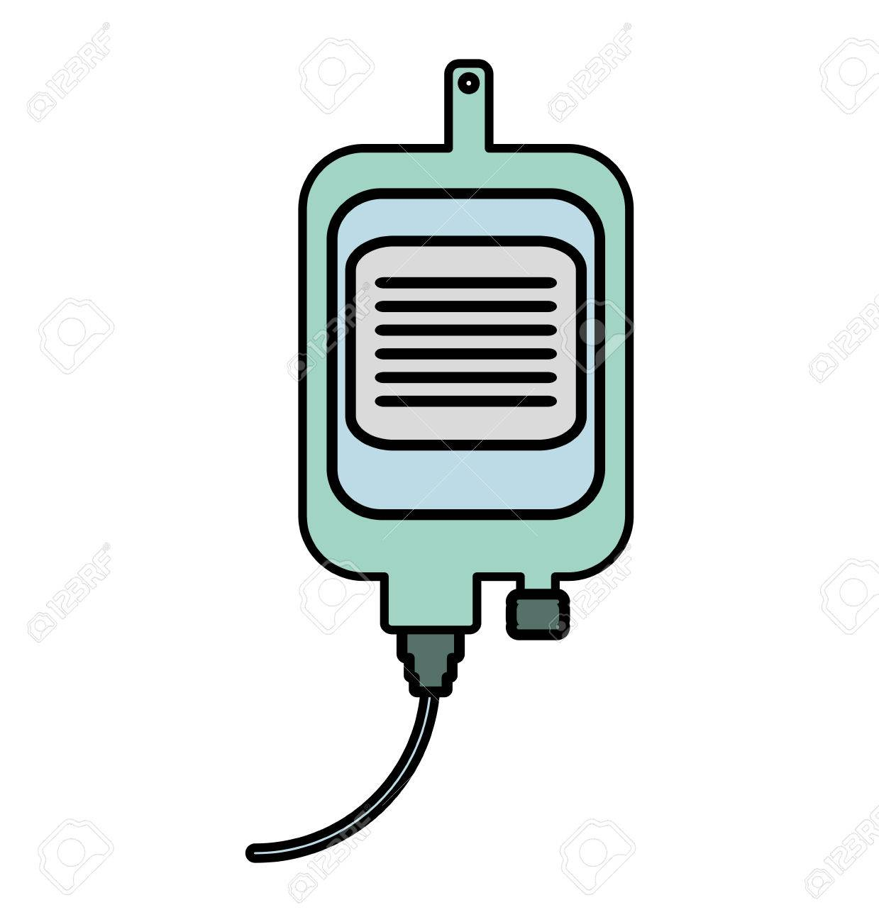 iv bag medical isolated icon vector illustration design royalty free rh 123rf com