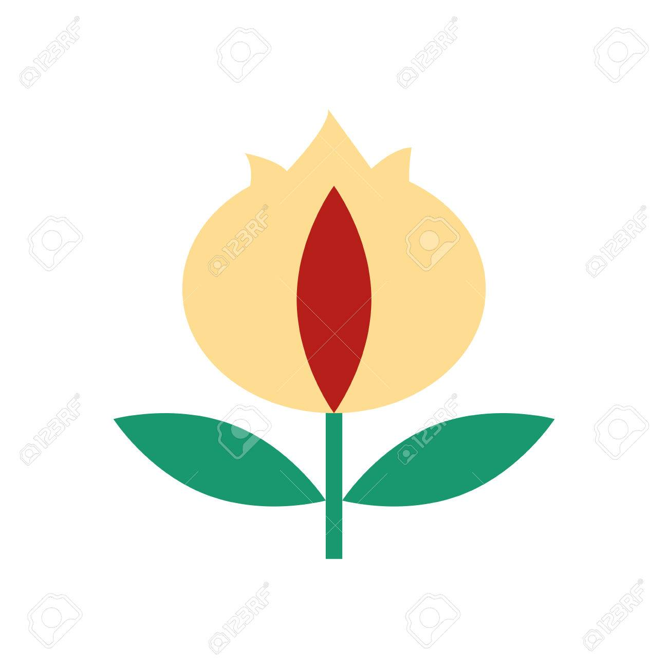 Fleur De Lys Isolated Icon Vector Illustration Design Royalty Free