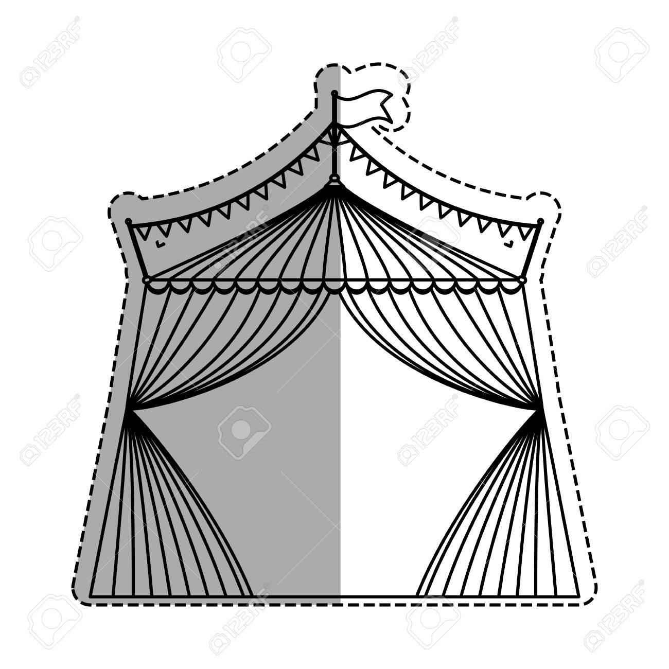 Circus tent festival icon vector illustration graphic design Stock Vector - 67261693  sc 1 st  123RF Stock Photos & Circus Tent Festival Icon Vector Illustration Graphic Design ...