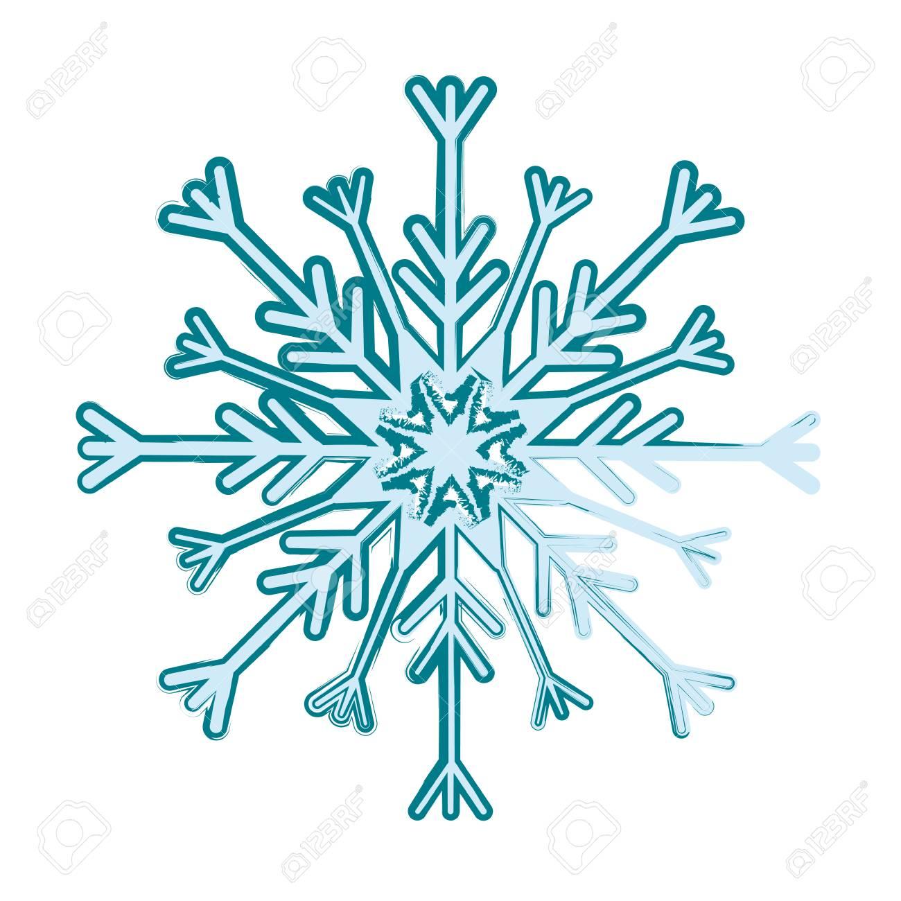 snowflake winter snow icon vector illustration graphic design rh 123rf com vector snowflakes free download vector snowflakes free download