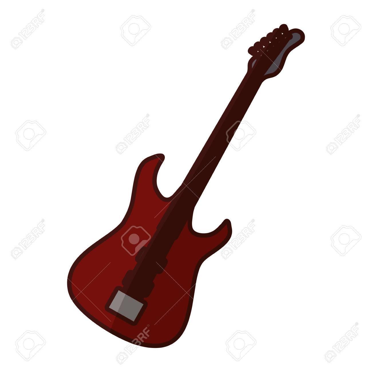 bass guitar icon image vector illustration design royalty free rh 123rf com