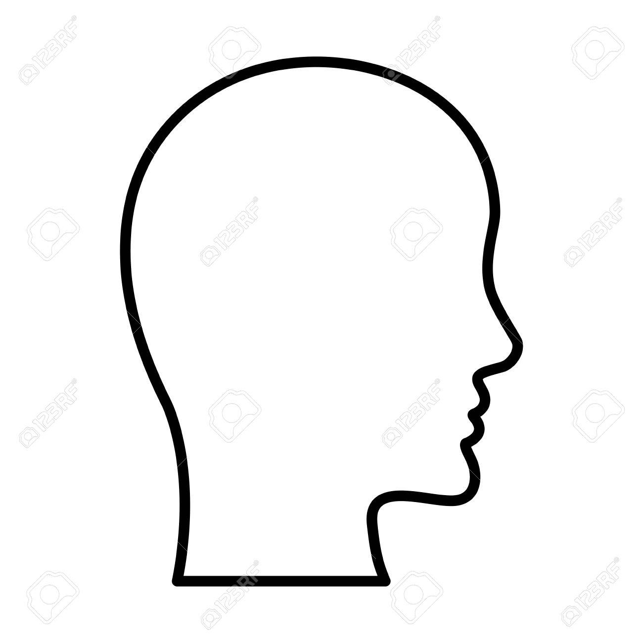 Human Head Silhouette Design Vector Illustration White Background Royalty Free Cliparts Vectors And Stock Illustration Image 67413610 Head silhouette free brushes licensed under creative commons, open source, and more! human head silhouette design vector illustration white background