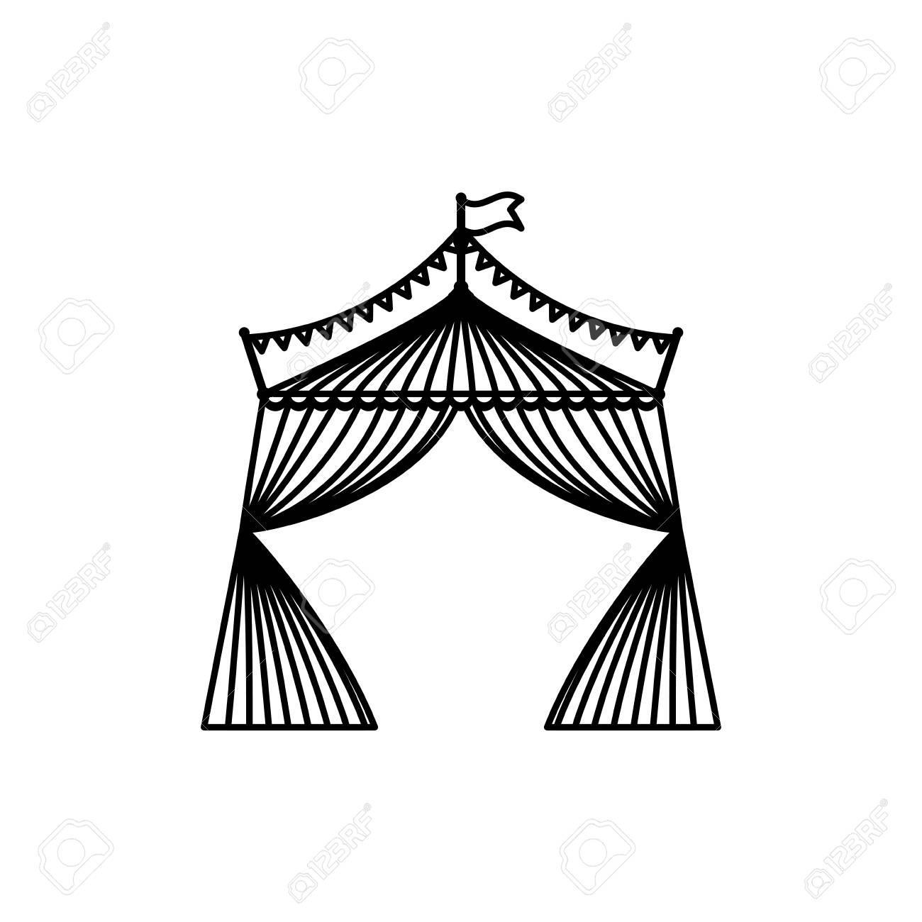 Circus tent festival icon vector illustration graphic design Stock Vector - 69085056  sc 1 st  123RF.com & Circus Tent Festival Icon Vector Illustration Graphic Design ...