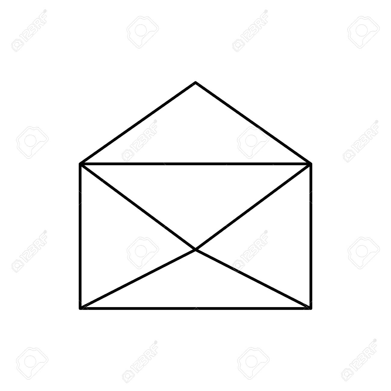 Mail Or Email Symbol Icon Vector Illustration Graphic Design Royalty