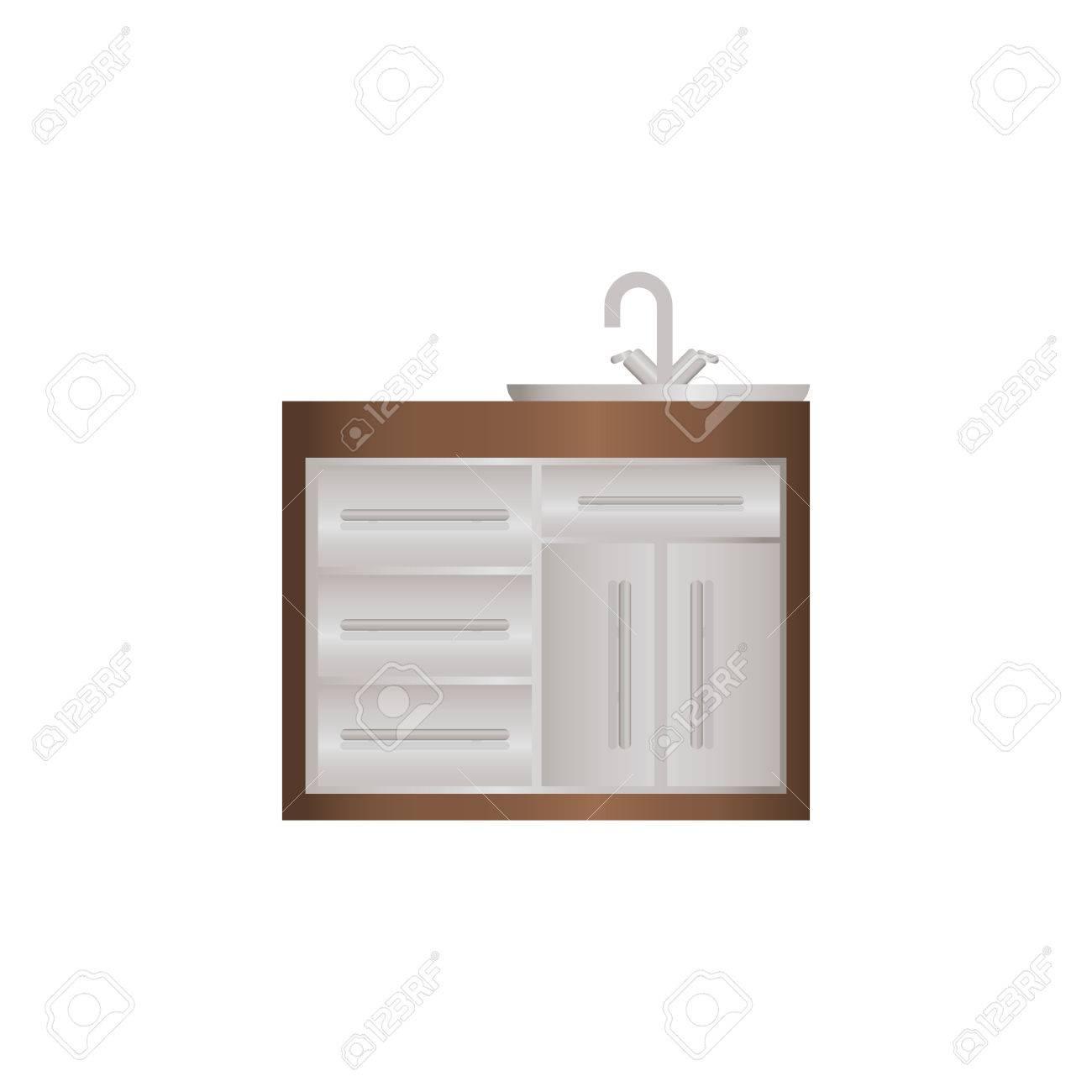 Kitchen Cabinet Icon.. Kitchen Cabinets Full-wall, Kitchen Design ...