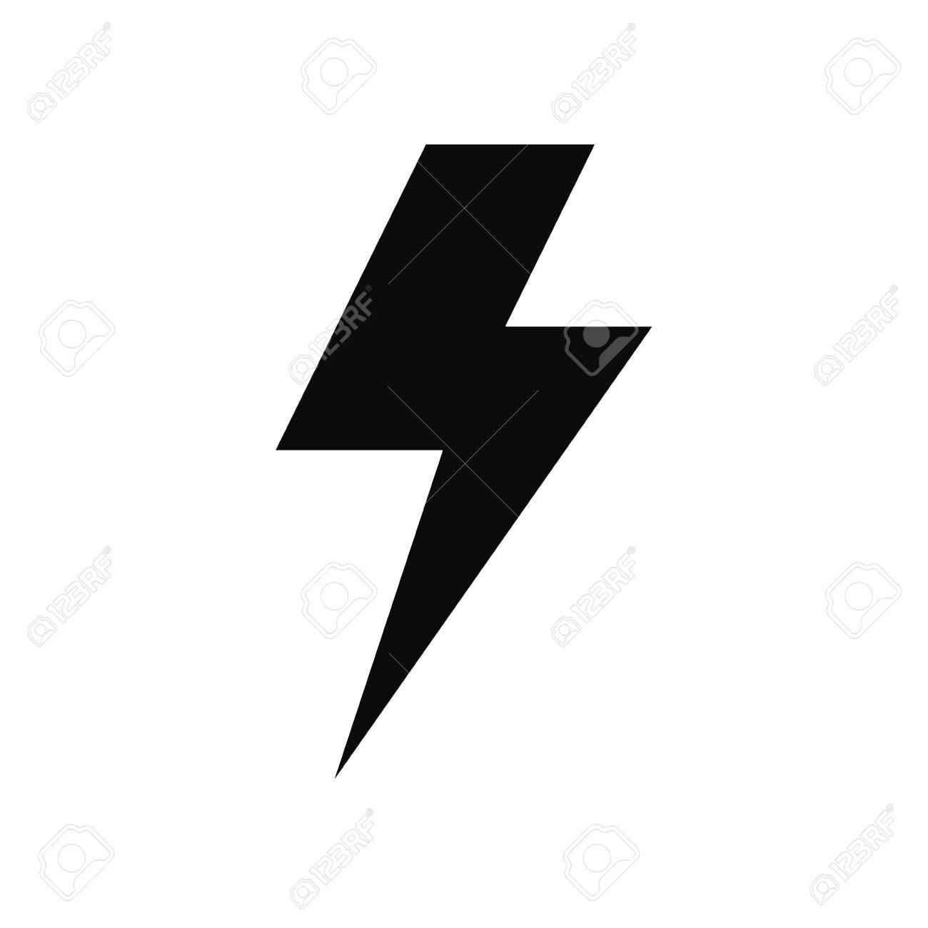 Ray electricity symbol icon vector illustration graphic design